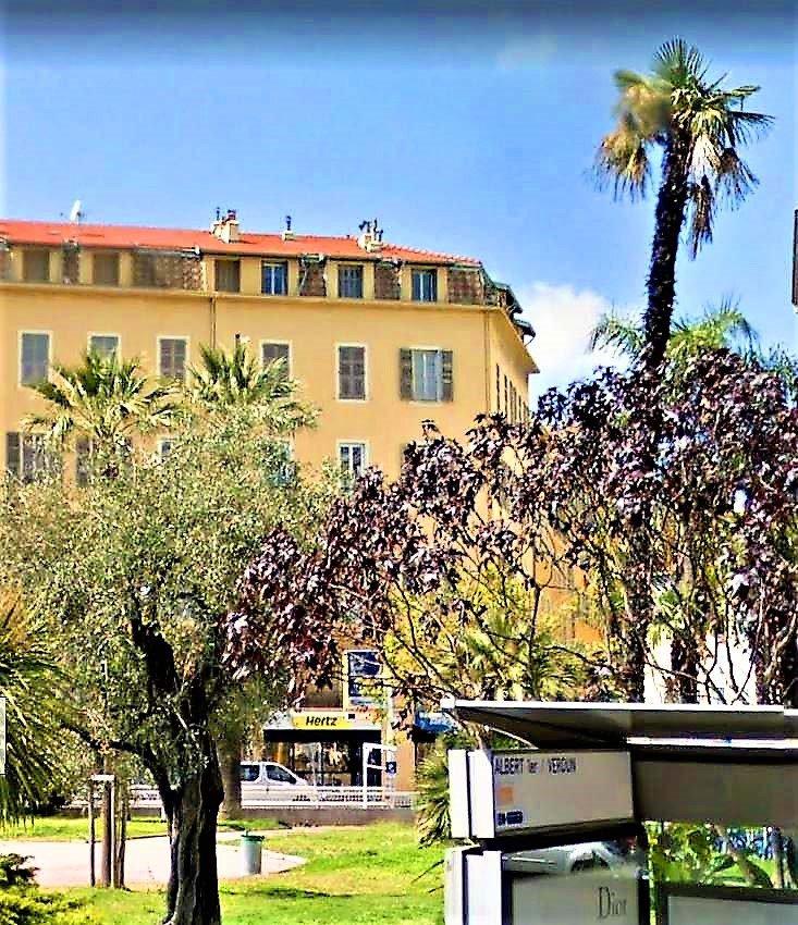 Nice - Jardin Albert 1er / Promenade - 3P état neuf