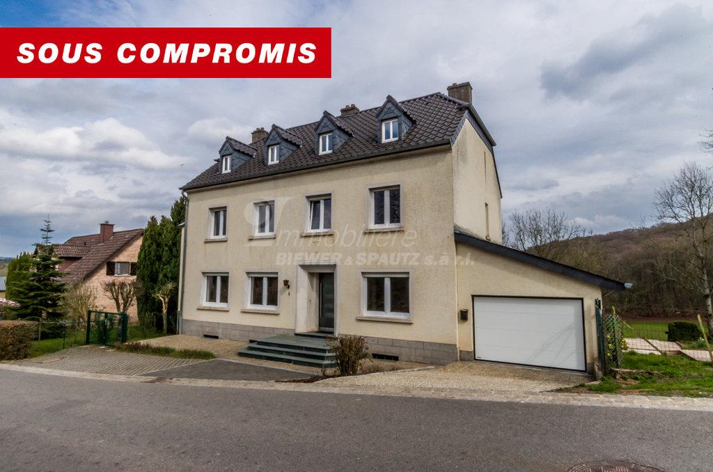 VENDU - maison d'habitation spacieuse à 5-6 chambres à coucher à Fouhren (Diekirch)