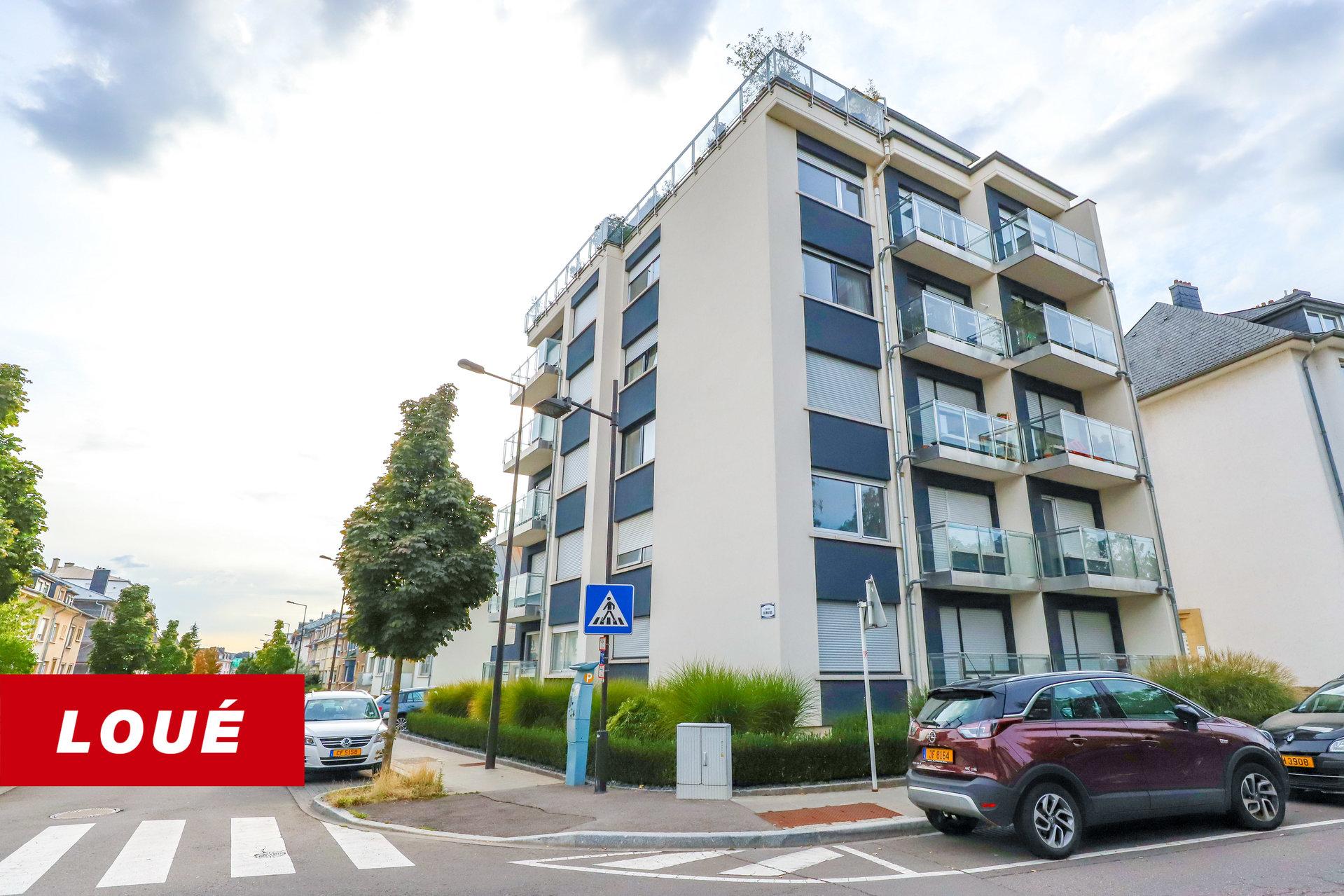 VERMIETET - Wohnung mit 2 Schlafzimmern in Luxembourg-Bonnevoie