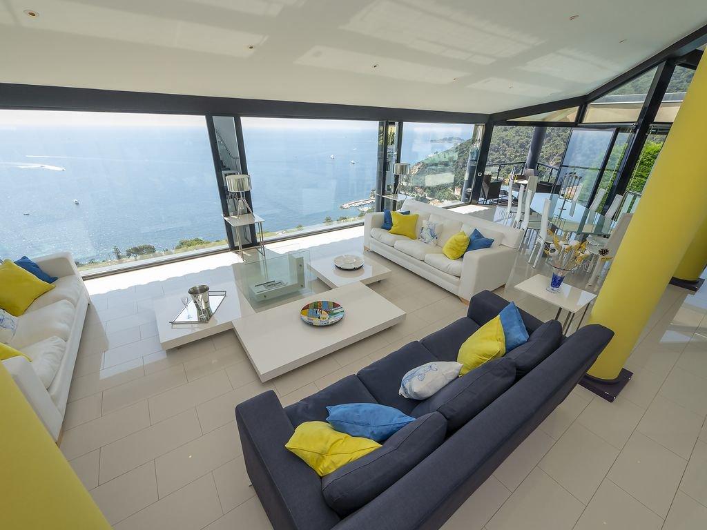 Вилла с панорамным видом на залив - Эз