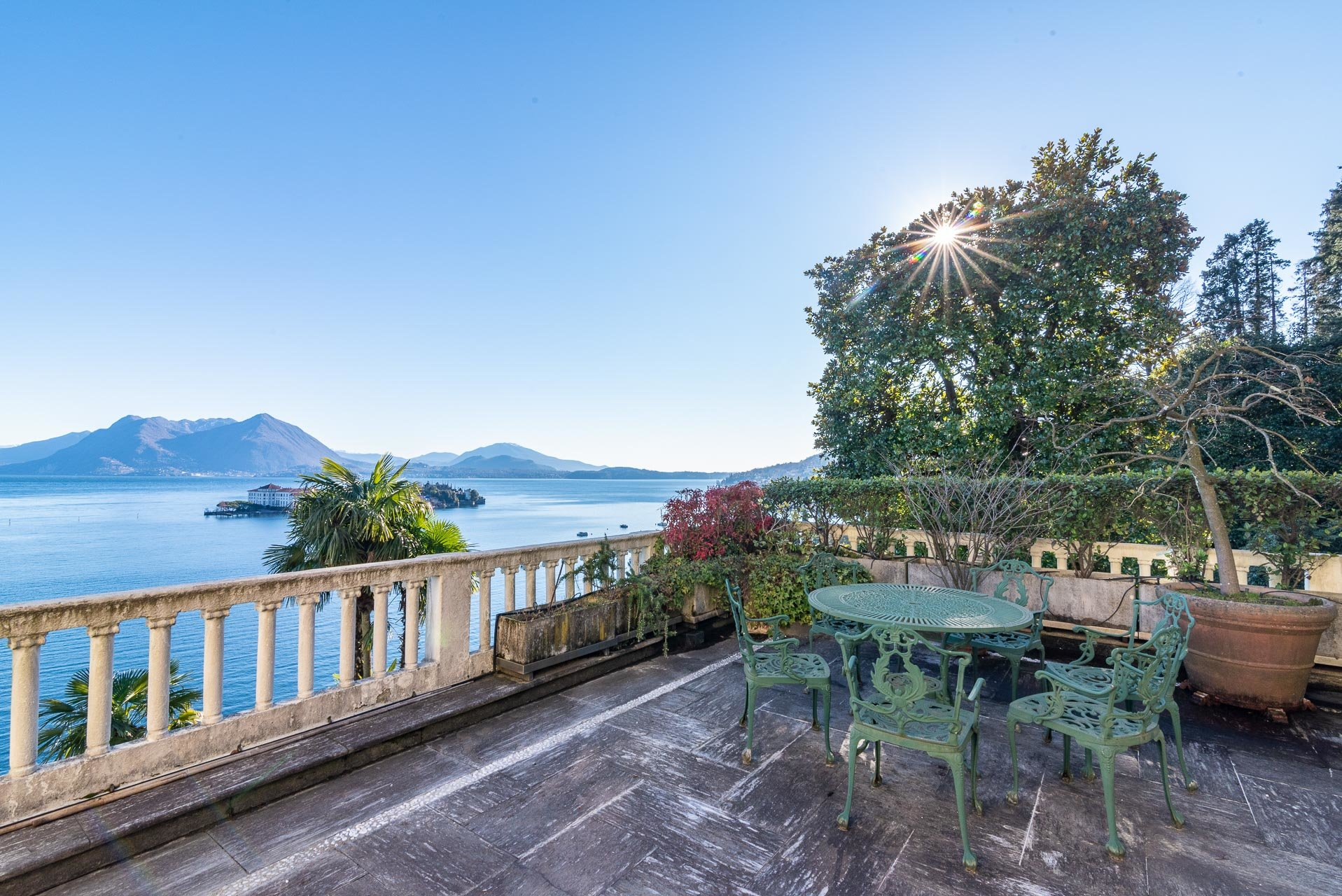Lake view apartment for sell in Baveno - lake view terrace