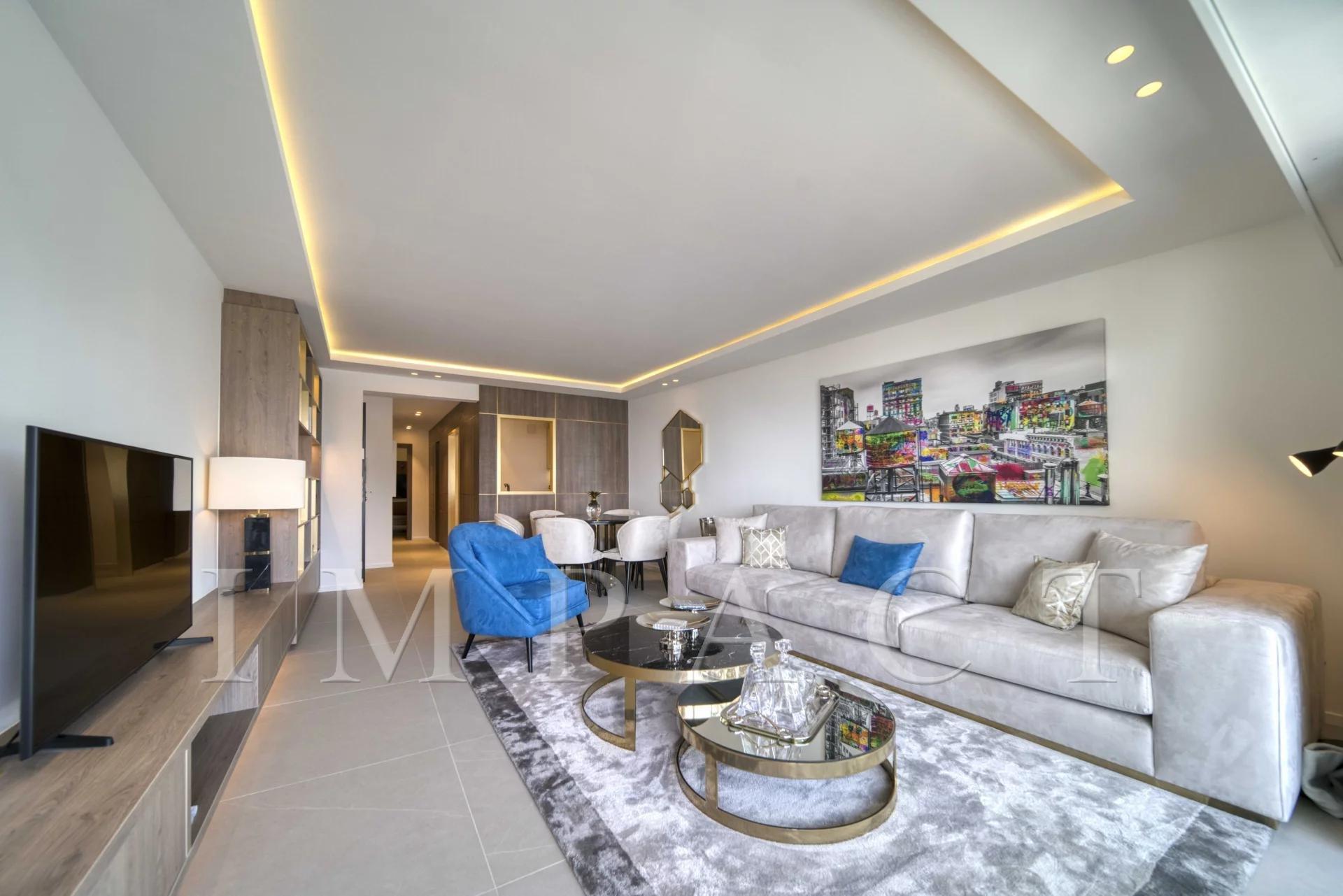 Appartement neuf en location vue mer,  Cannes Croisette