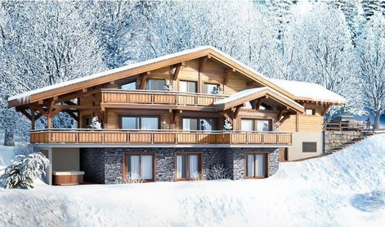 Morzine chalet with a marvellous open view