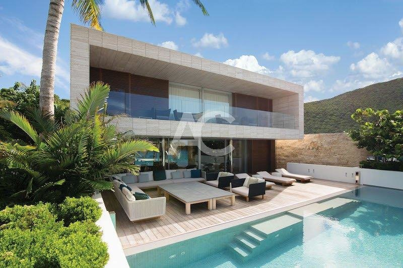 Luxury villa with ocean views - St Barth