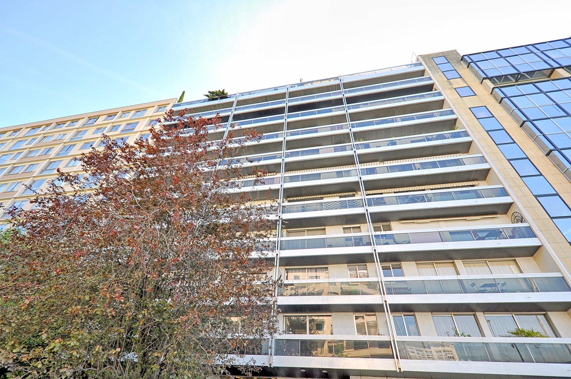 Rhin & Danube, 2p balcon parking vue dédagée