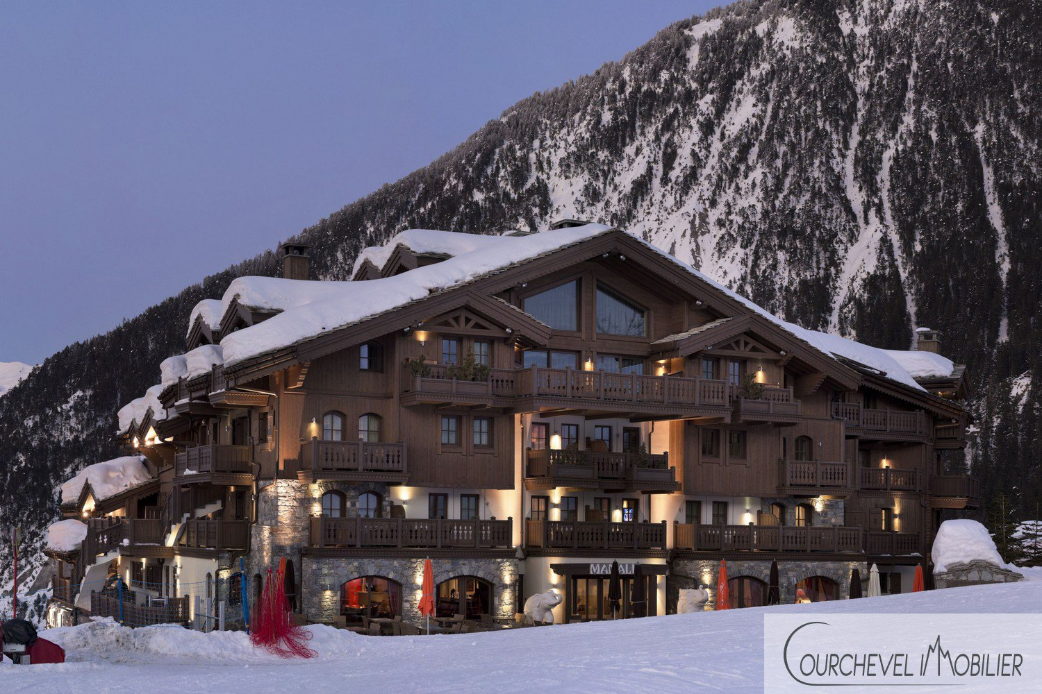 98 sqm apartment in Courchevel 1650