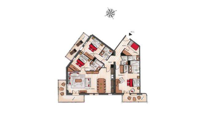 Verkoop Appartement - Courchevel Moriond 1650
