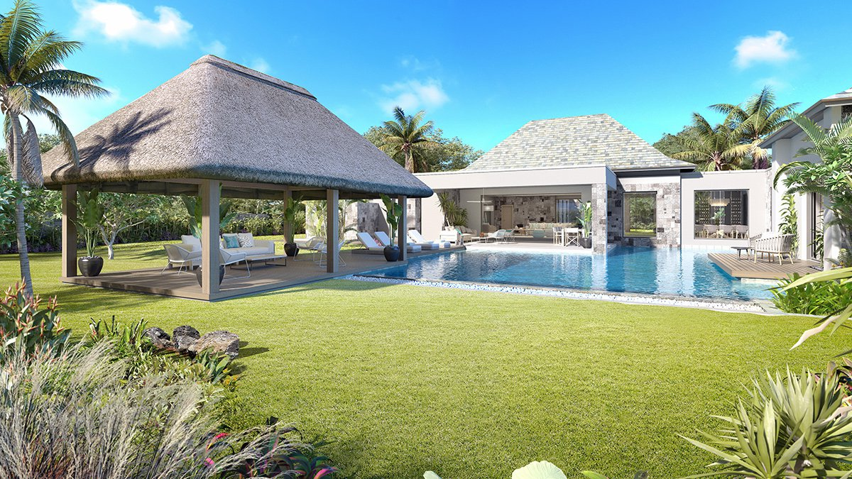 LUXURIOUS VILLAS WITH A SENSE OF EASE AND OPENNESS