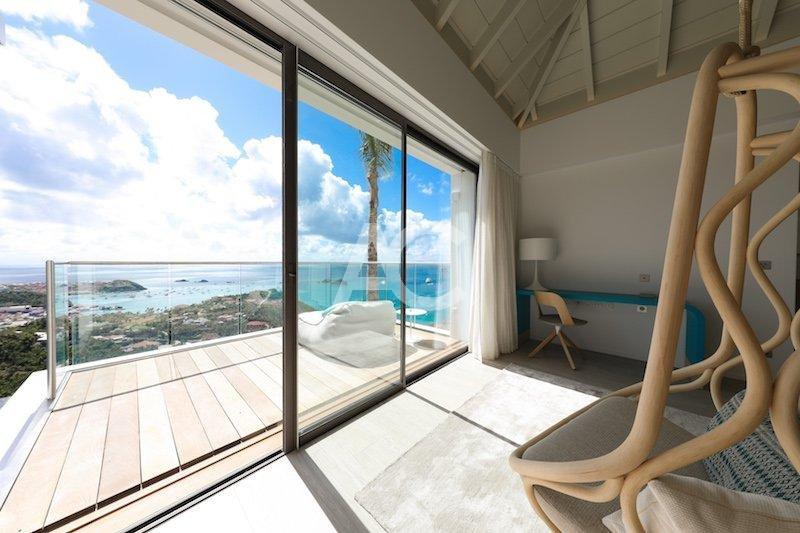 Дизайнерская вилла с видом на океан - Сен - Барт