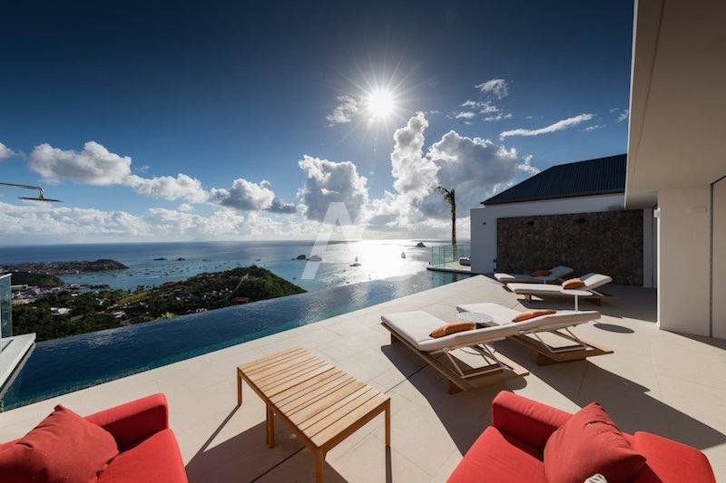 Luxury designed villa - St Bart - Ocean view