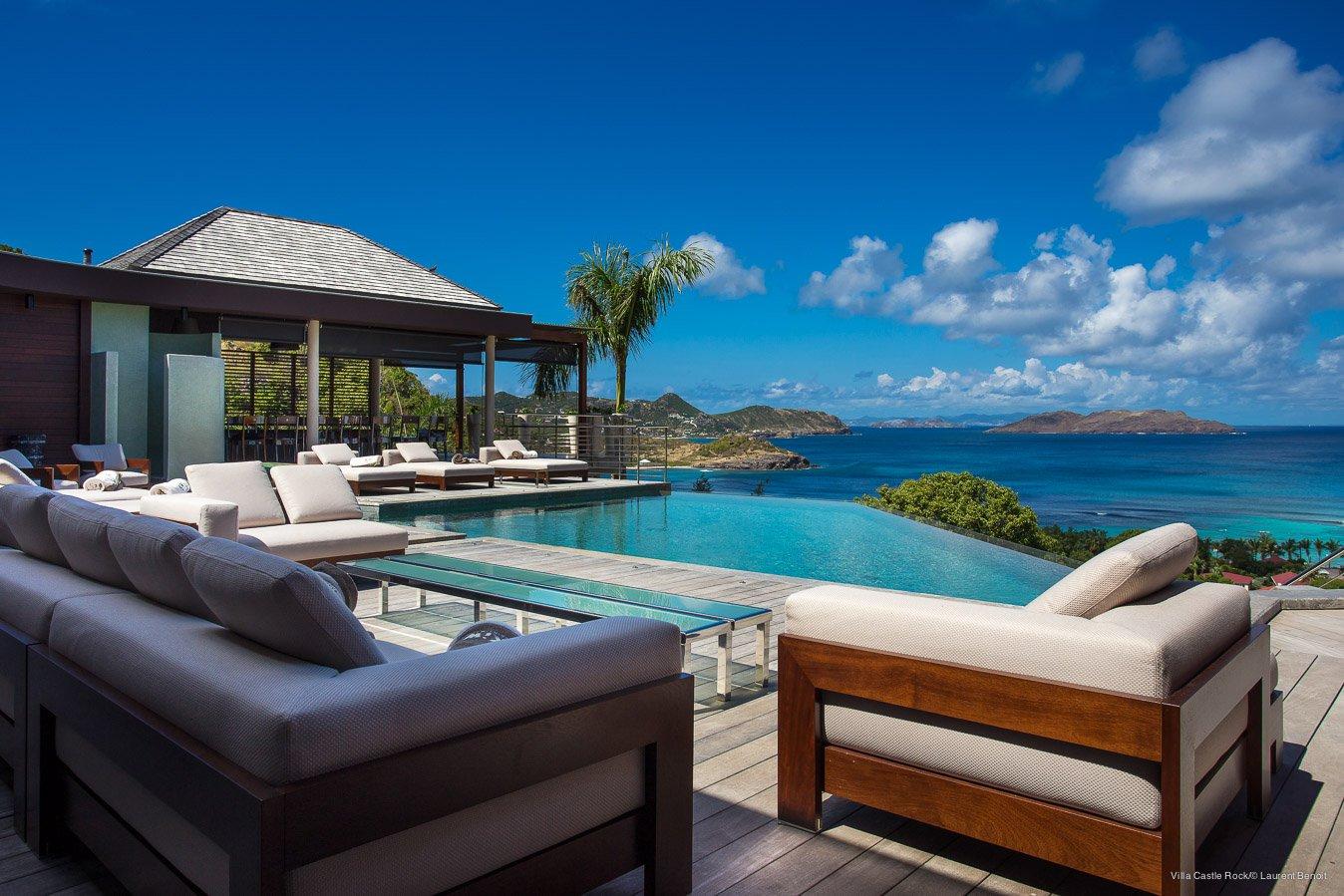Villa St Bart - Ocean view