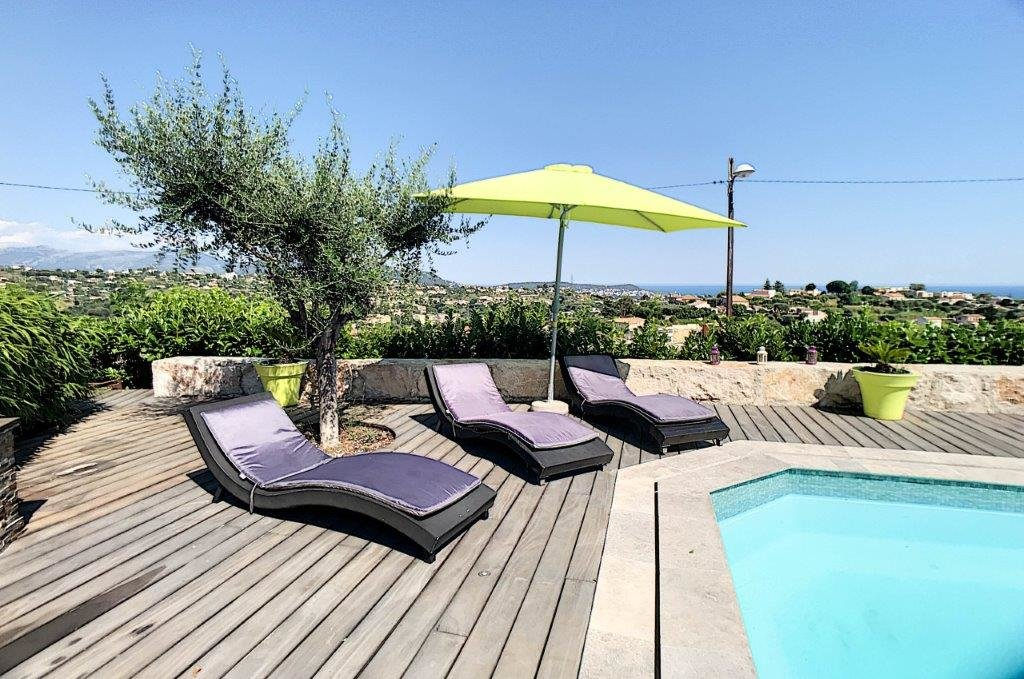 SALE Villa 5 Rooms Nice Saint Antoine Panoramic Sea & Hills Views!