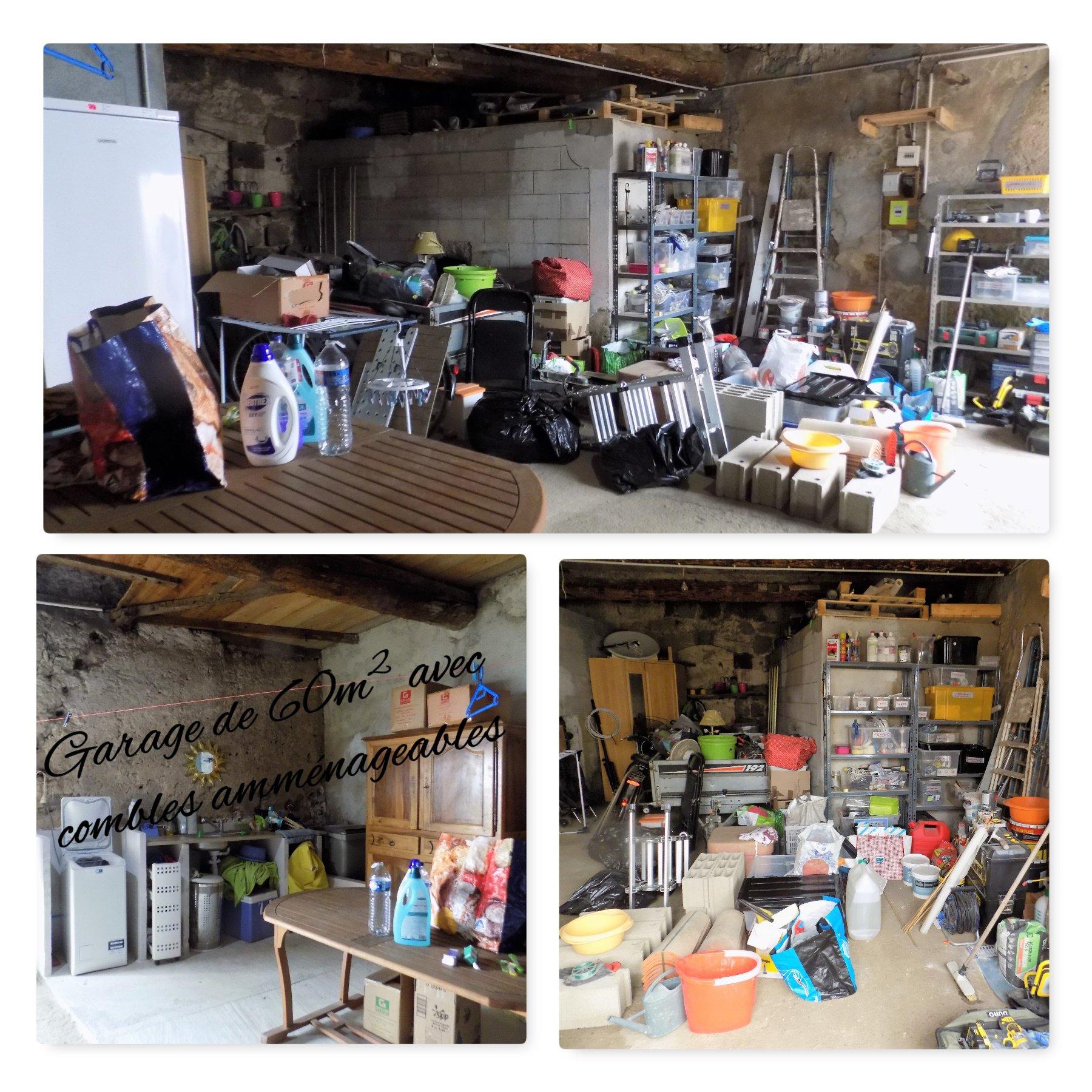 Maison de village rénovée avec exterieur et grand garage