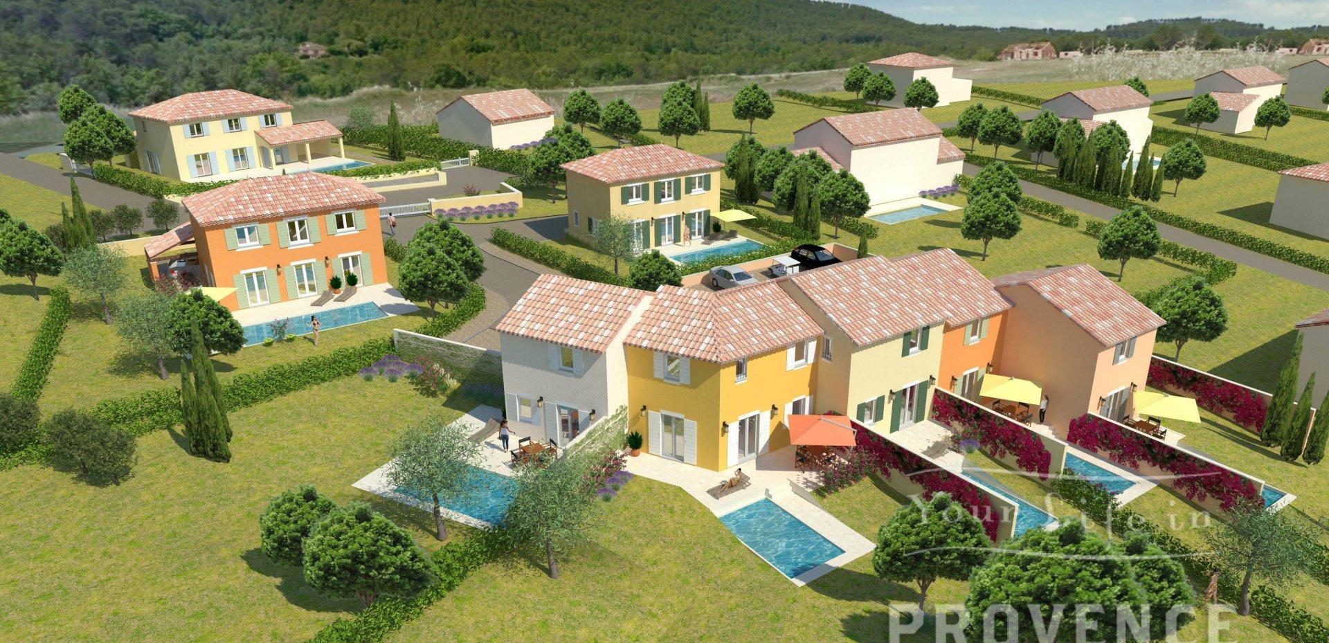 House with pool near Golf