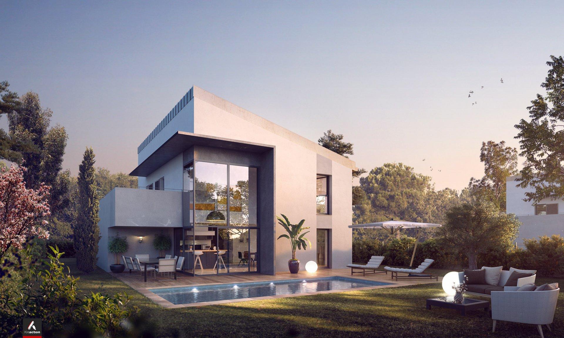 160 m² villa in new development Roquette sur Siagne