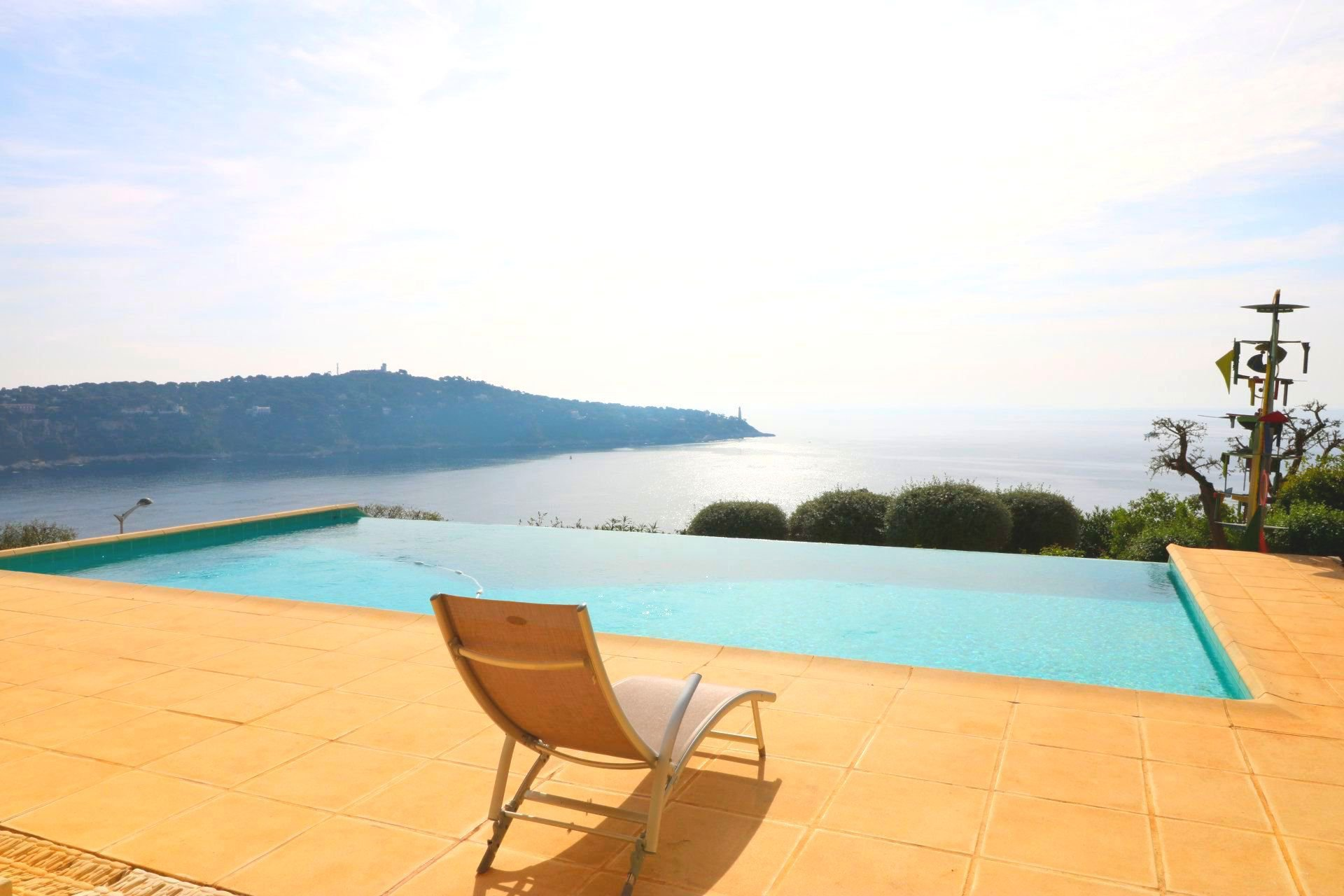 Cap de Nice - Sea view villa with pool