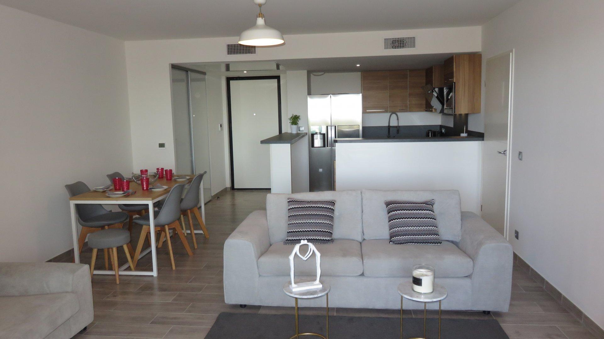 Apartamento de 3 habitaciones - garaje doble.
