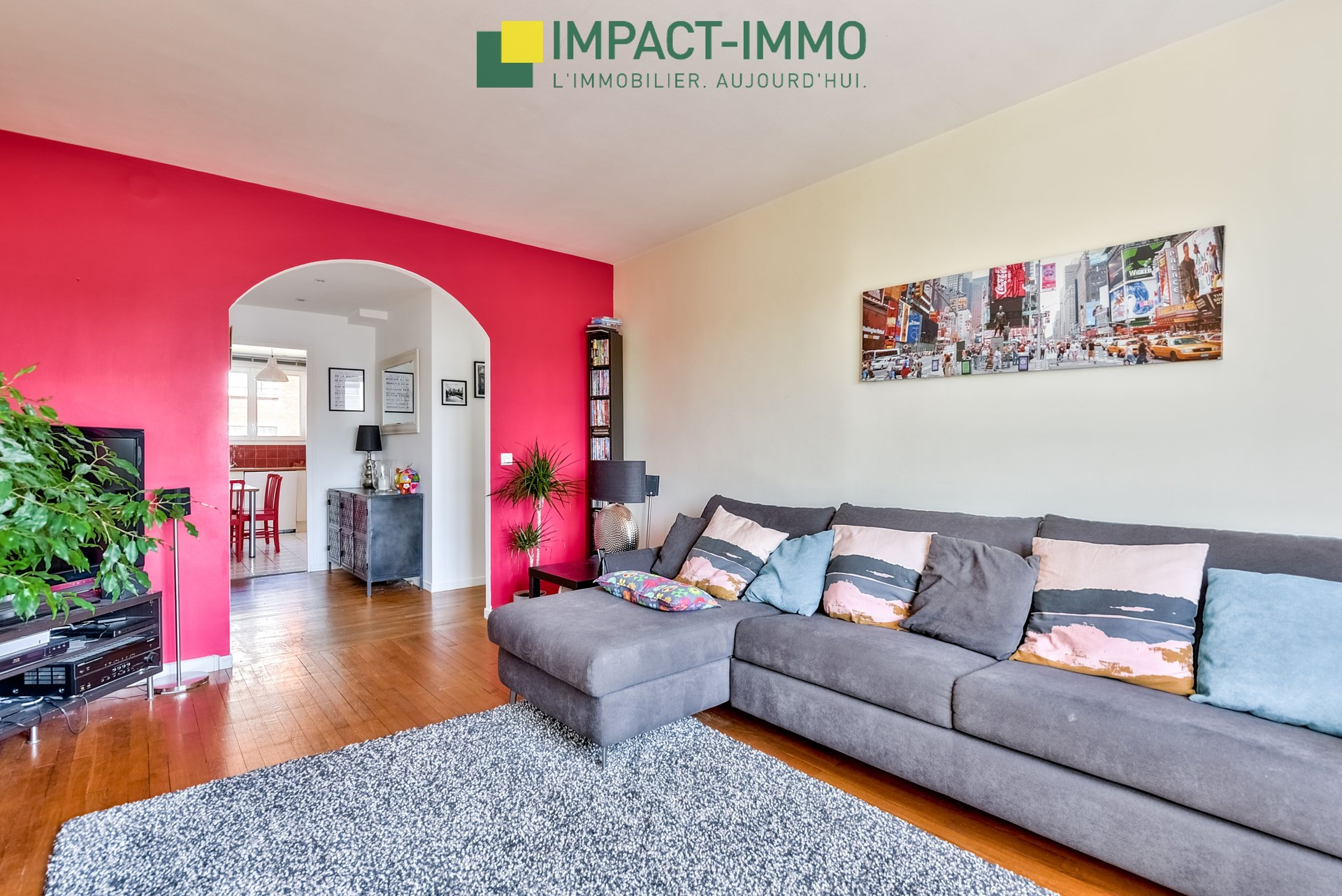 Appartement Colombes Centre Ville 3 pièce(s) 64 m2