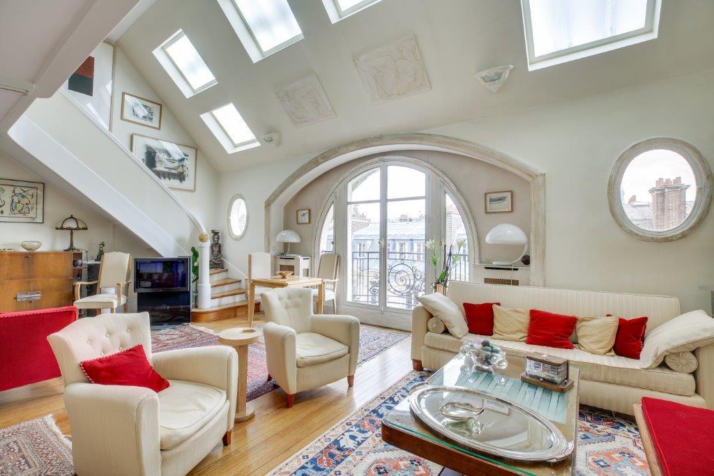 Fenêtre de toit, hauteur sous plafond