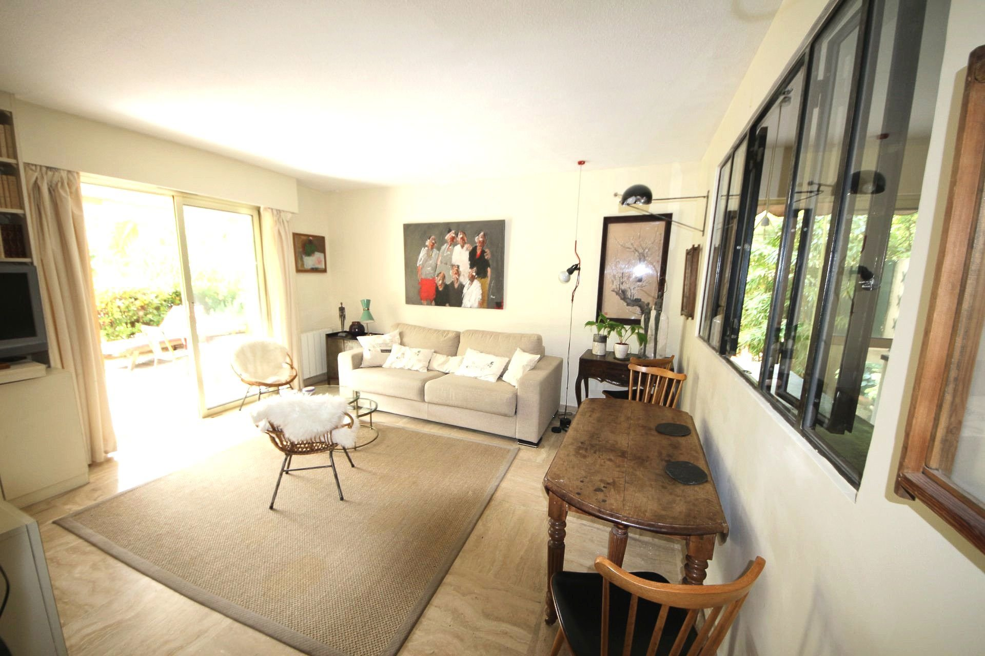 Cannes Montfleury 2P, RDJ of 47 Sqm with terrace of 70 Sqm