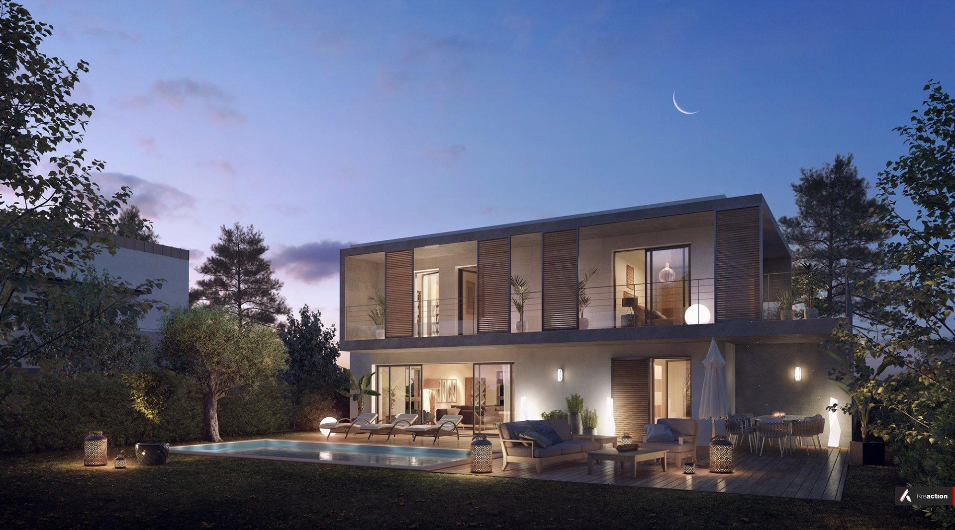 4 bedroom villa in new programme Roquette sur Siagne