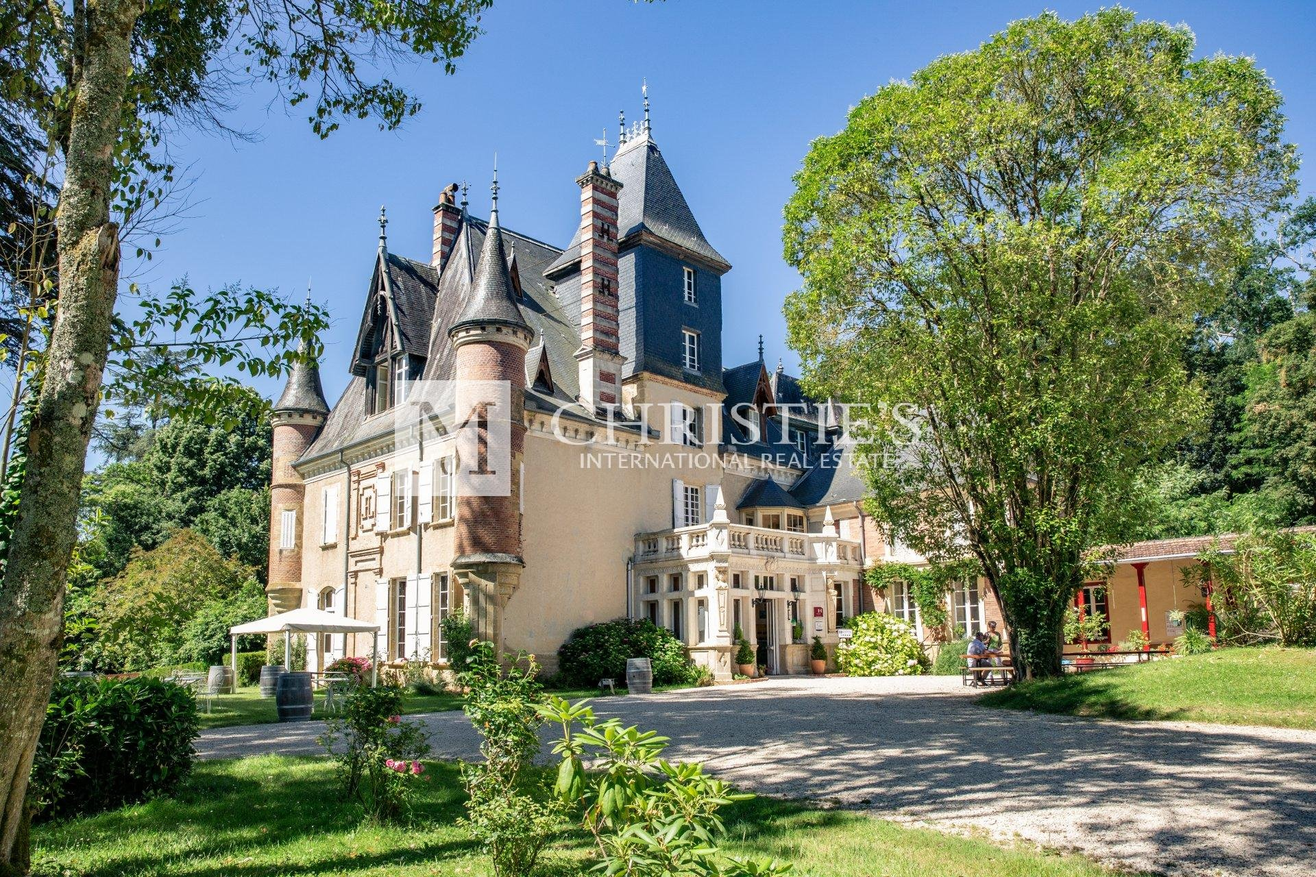 Elegant 19th century chateau close to Auch successfully run as a business