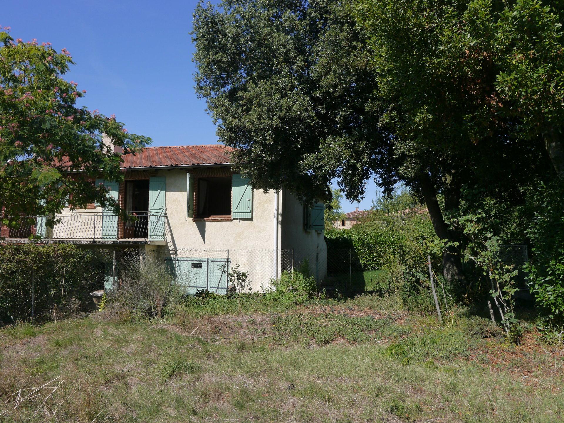 Verfeil 5 MN, Maison de village  T5  jardin de 1182 M²