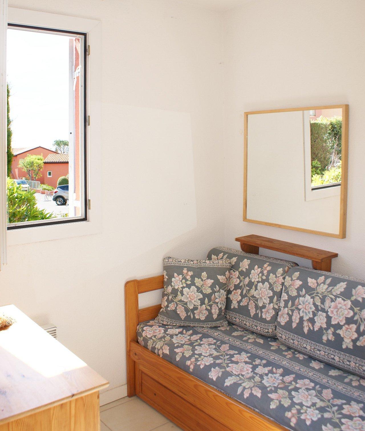 maison jumelée de 3 pièces avec petit jardin