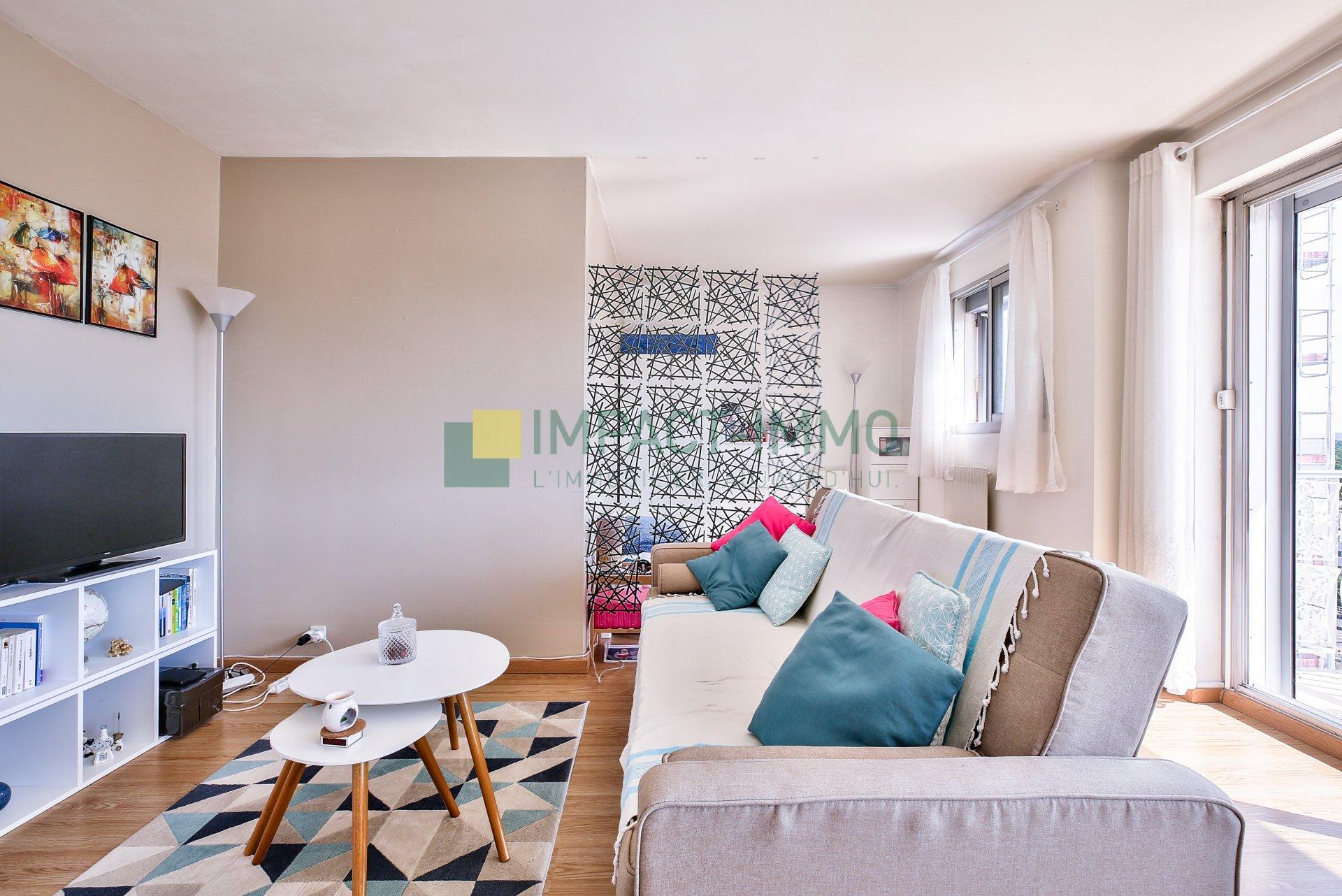 NOUVEAUTÉ ! Studio avec balcon et vue panoramique