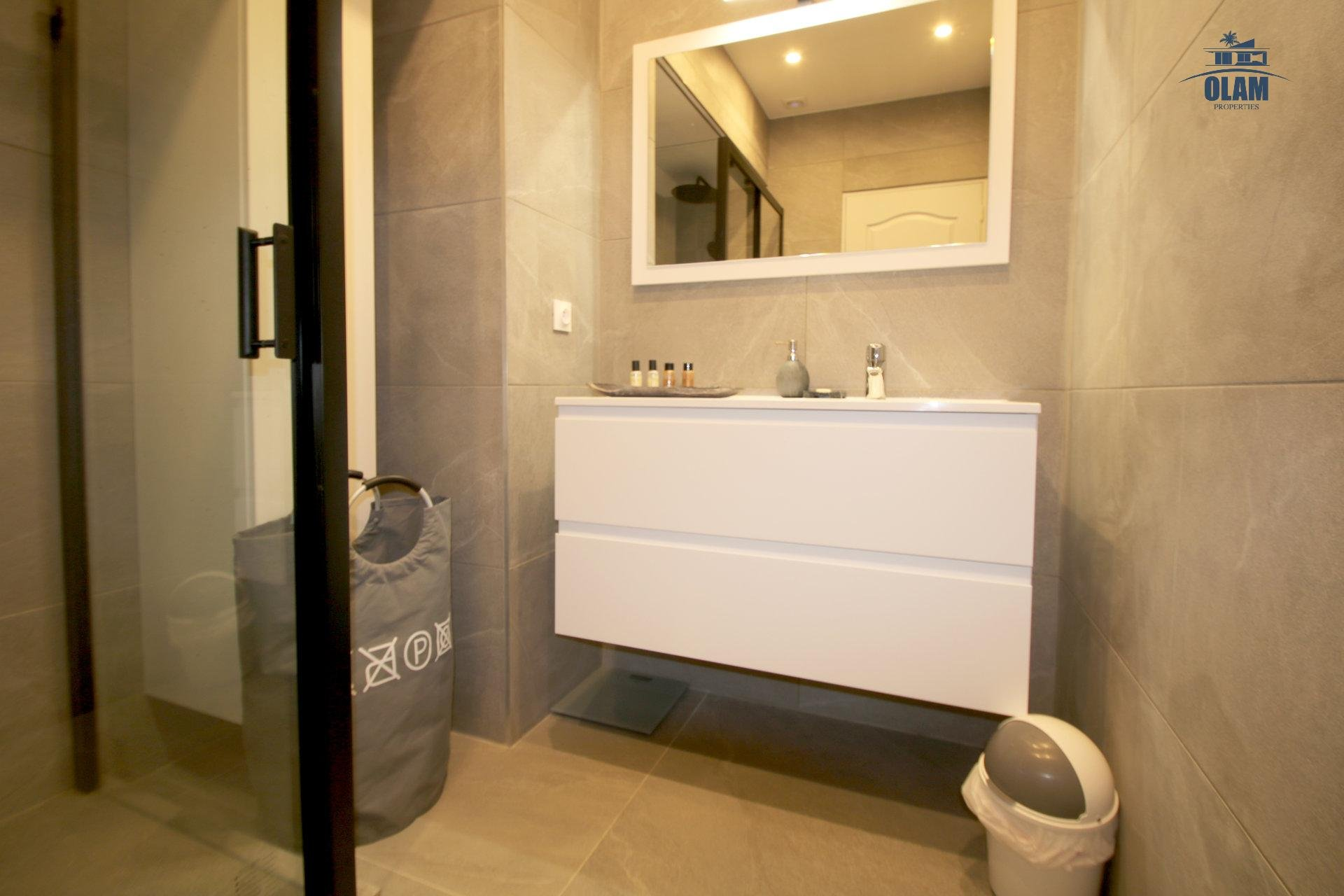 Shower room, Cannes, Seasonal rental, Croisette, French Riviera