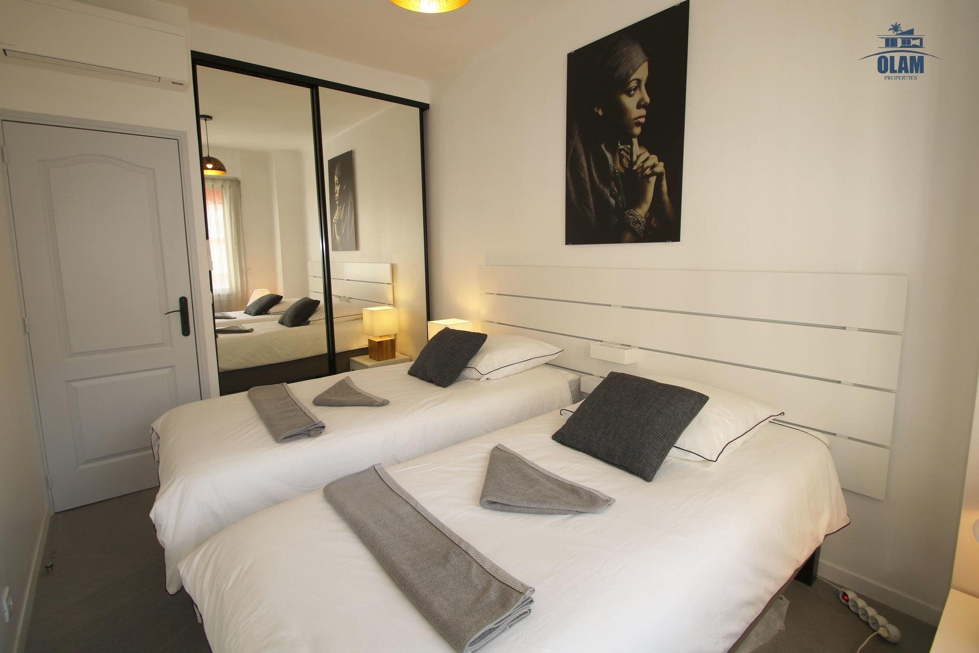 Bedroom, Cannes, Holidays, Croisette, French Riviera
