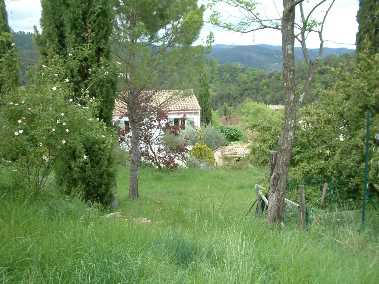 « House in Anduze with view»
