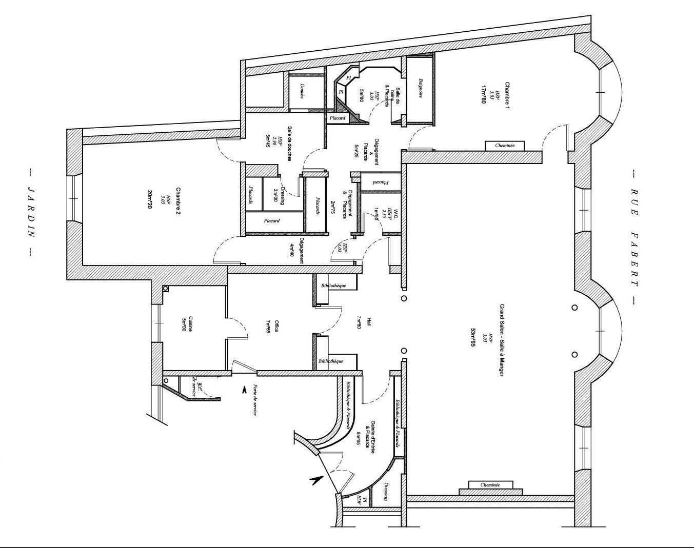 ESPLANADE DES INVALIDES, appartement avec vue exceptionelle