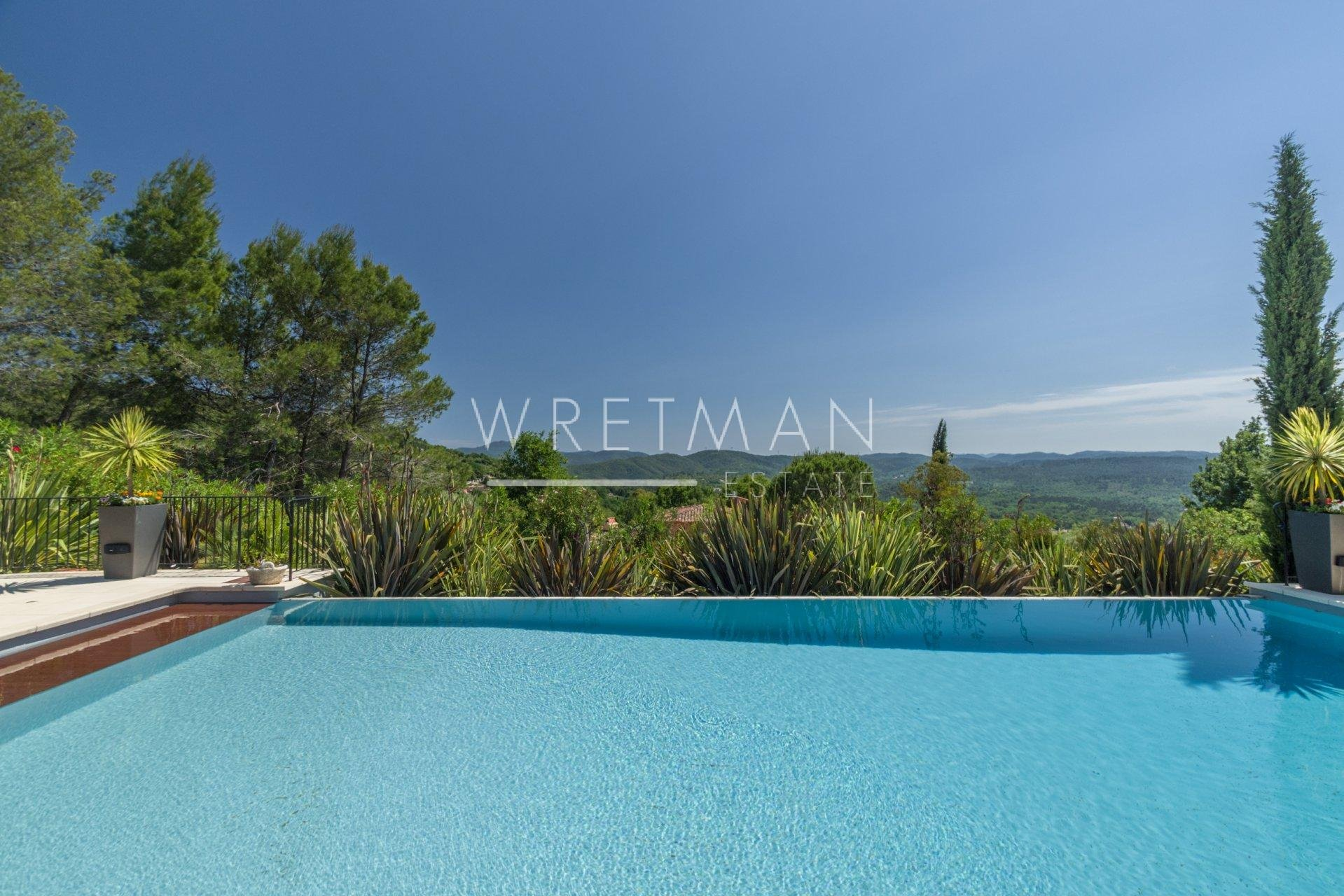Luxurioux villa with view - Montauroux