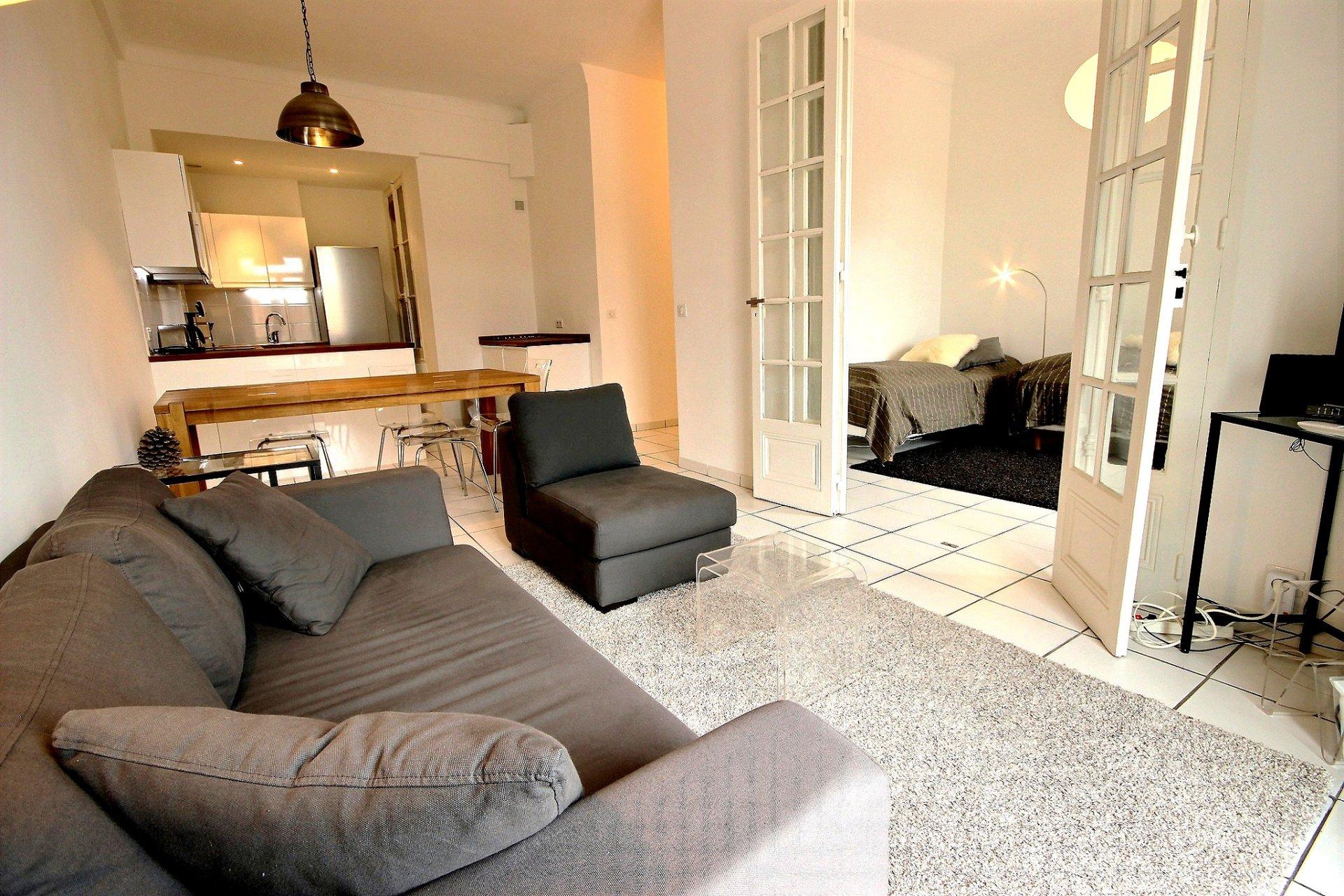 Cannes Banane lägenhet till salu nära festivalpalatset