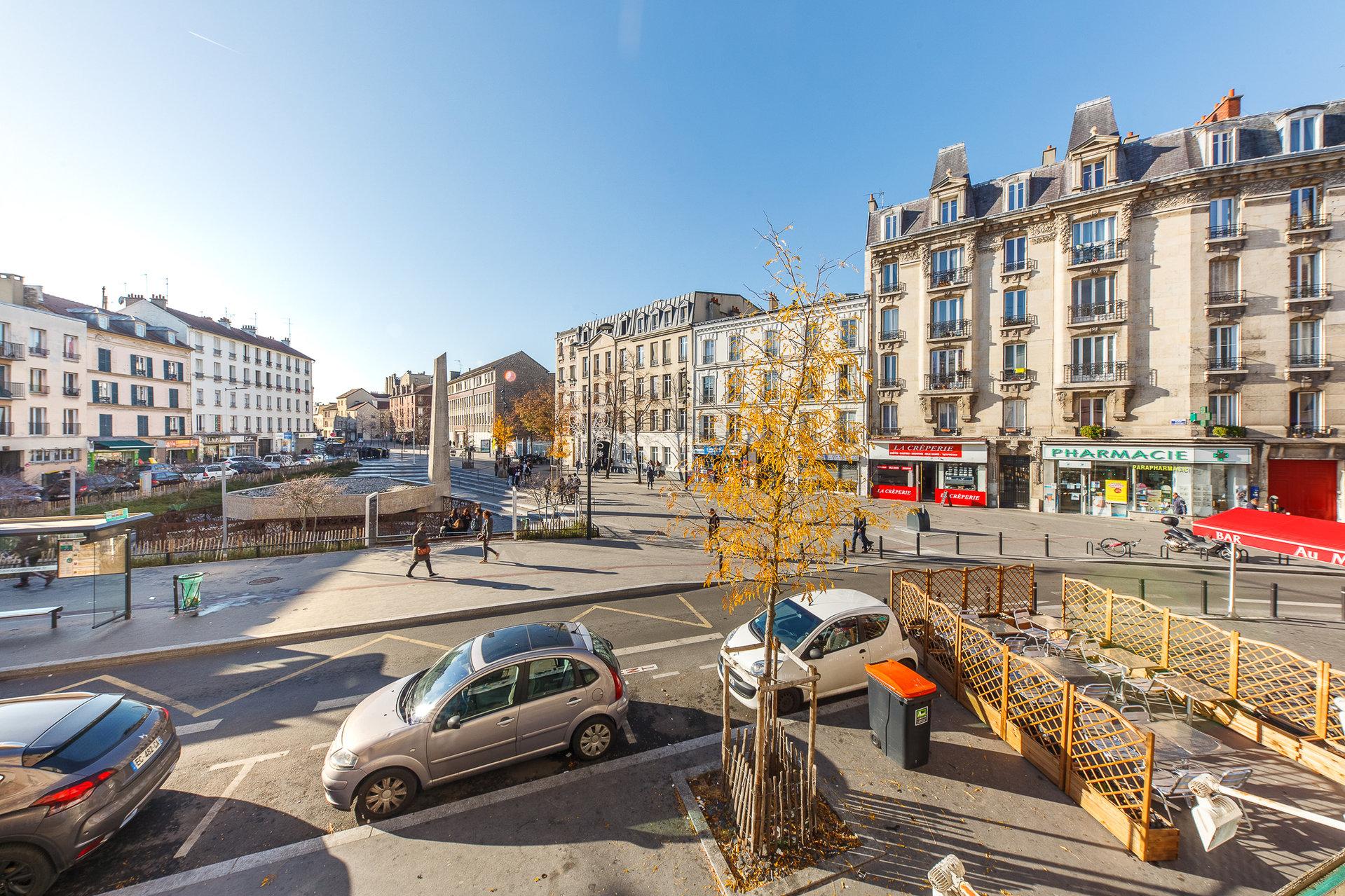 Saint-Denis - MUSSE D'ART ET D'HISTOIRE - M° Saint Denis Porte de Paris - 4 Pièces - SOLEIL - TRAVERSANT - VUE