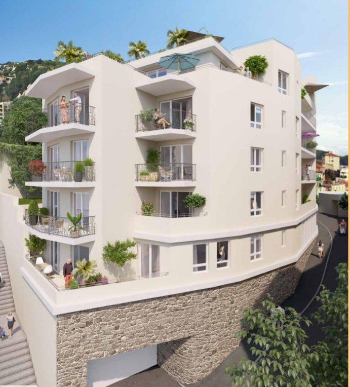 Beausoleil,  4 rooms apartement,  89m2, terrasse 124m2