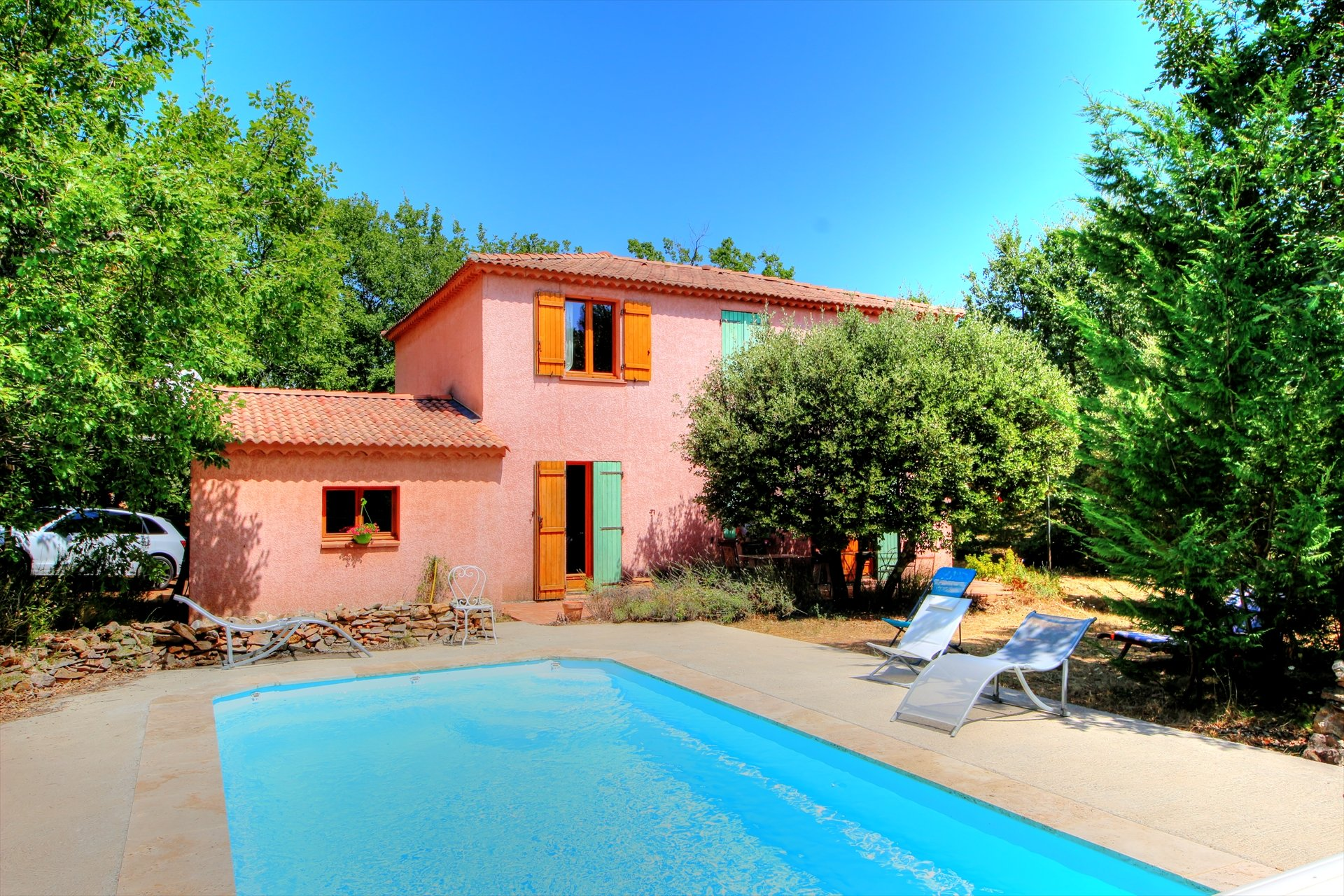 Nice house type bastide with pool - regusse Var Provence