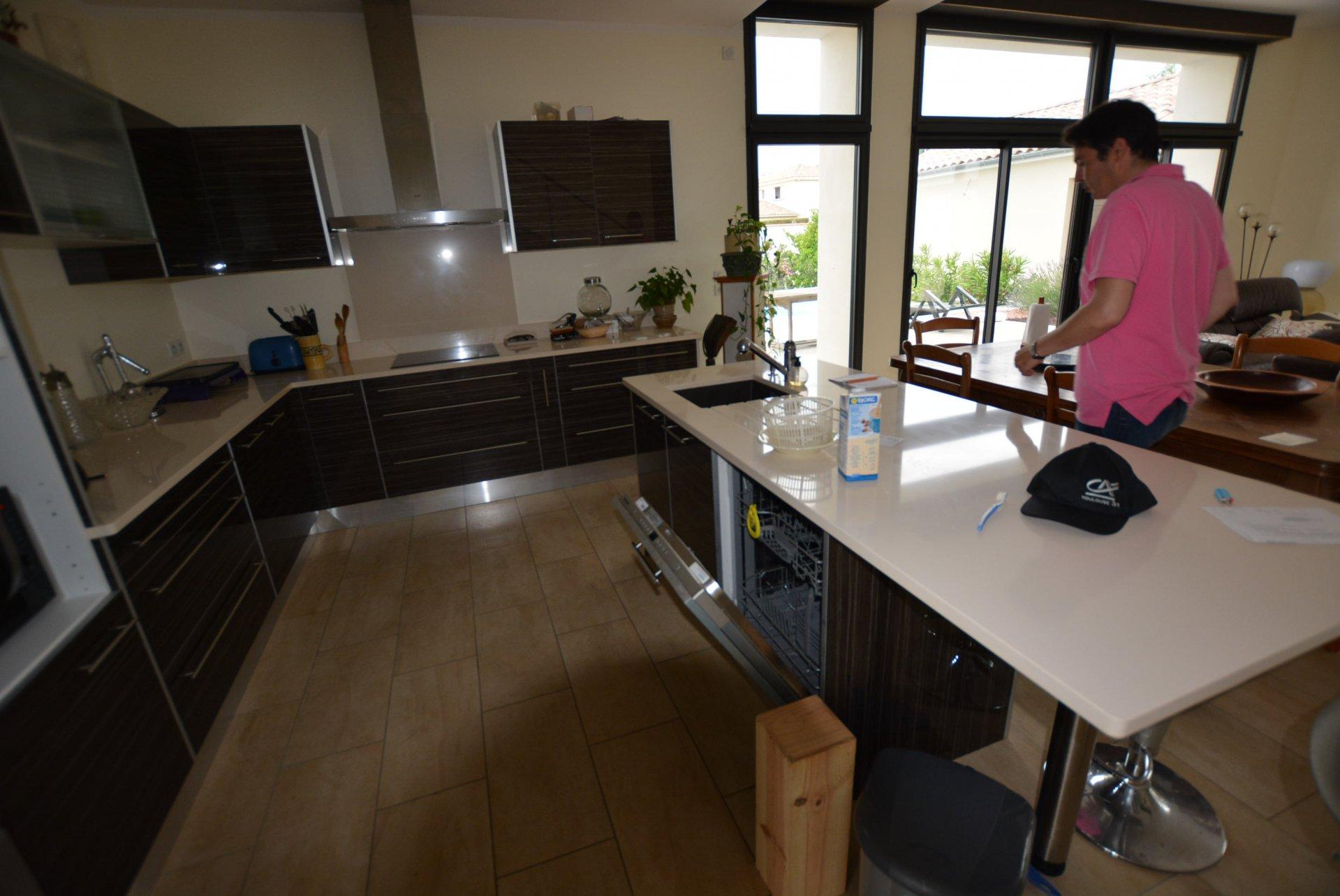 Küchentheke, Edelstahl, Kücheninsel