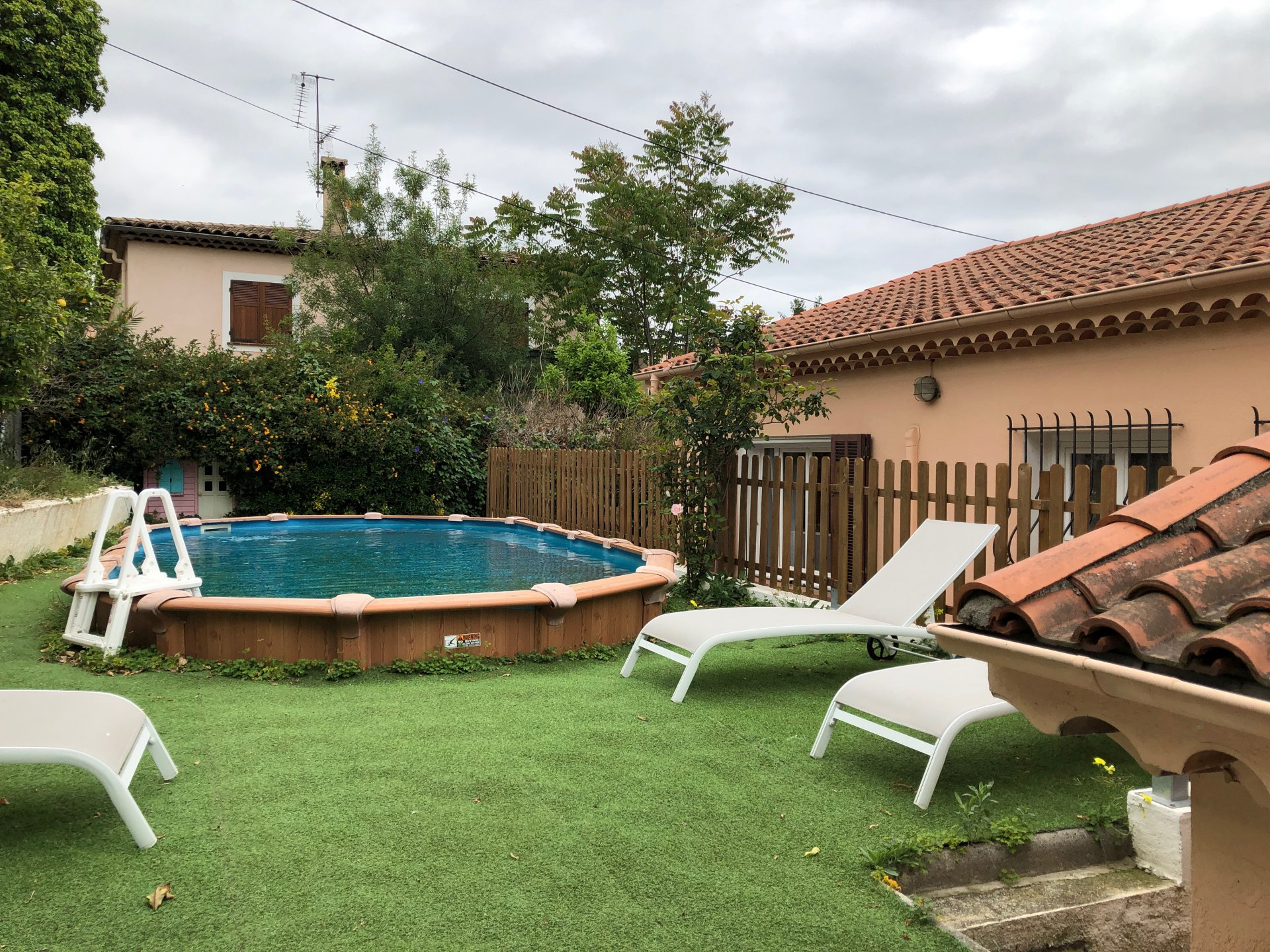 Cagnes sur mer (06800) - Villa 4 pièces avec piscine
