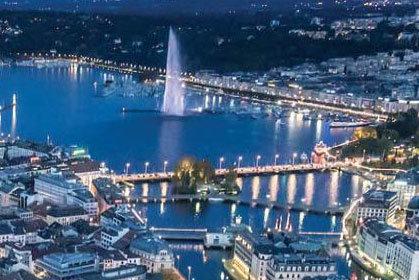 Hôtel murs et fonds en plein coeur de Geneve