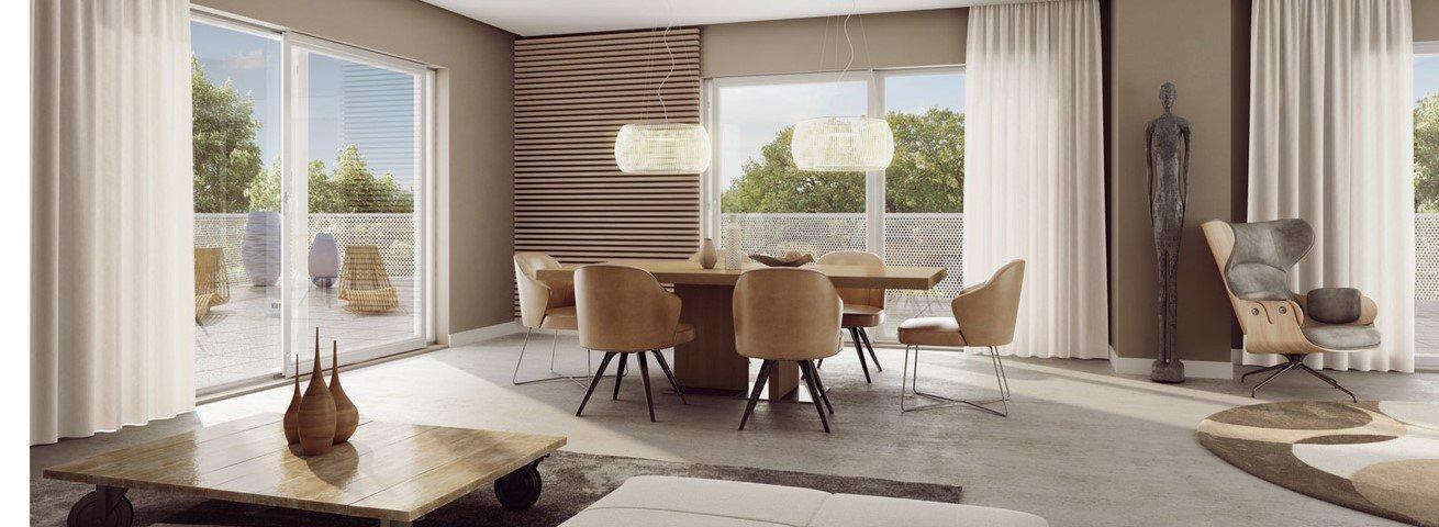 Appartement neuf T2 est grande terrasse bayonne centre à vendre