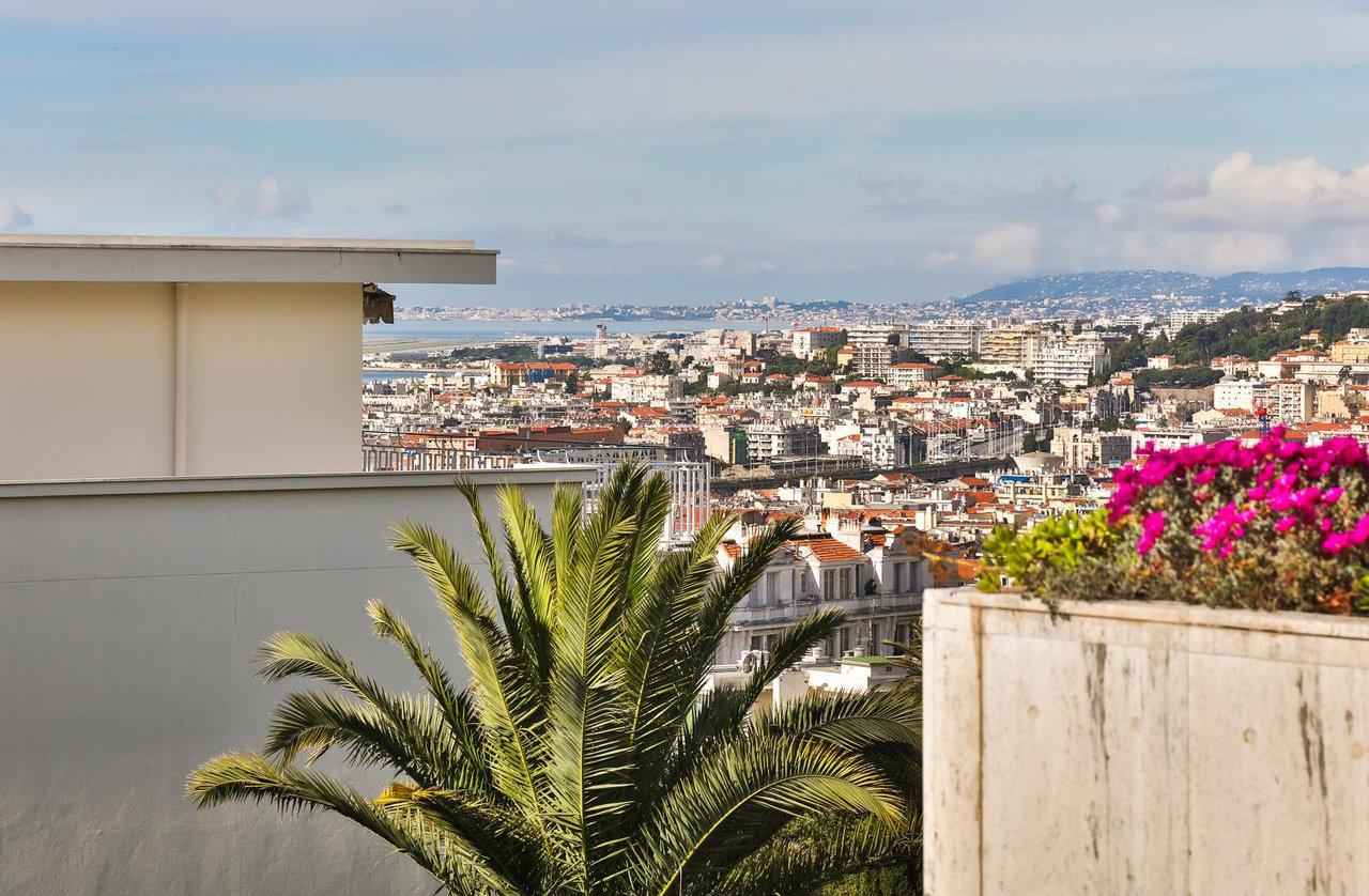 3P avec garage, terrace - Nice Cimiez