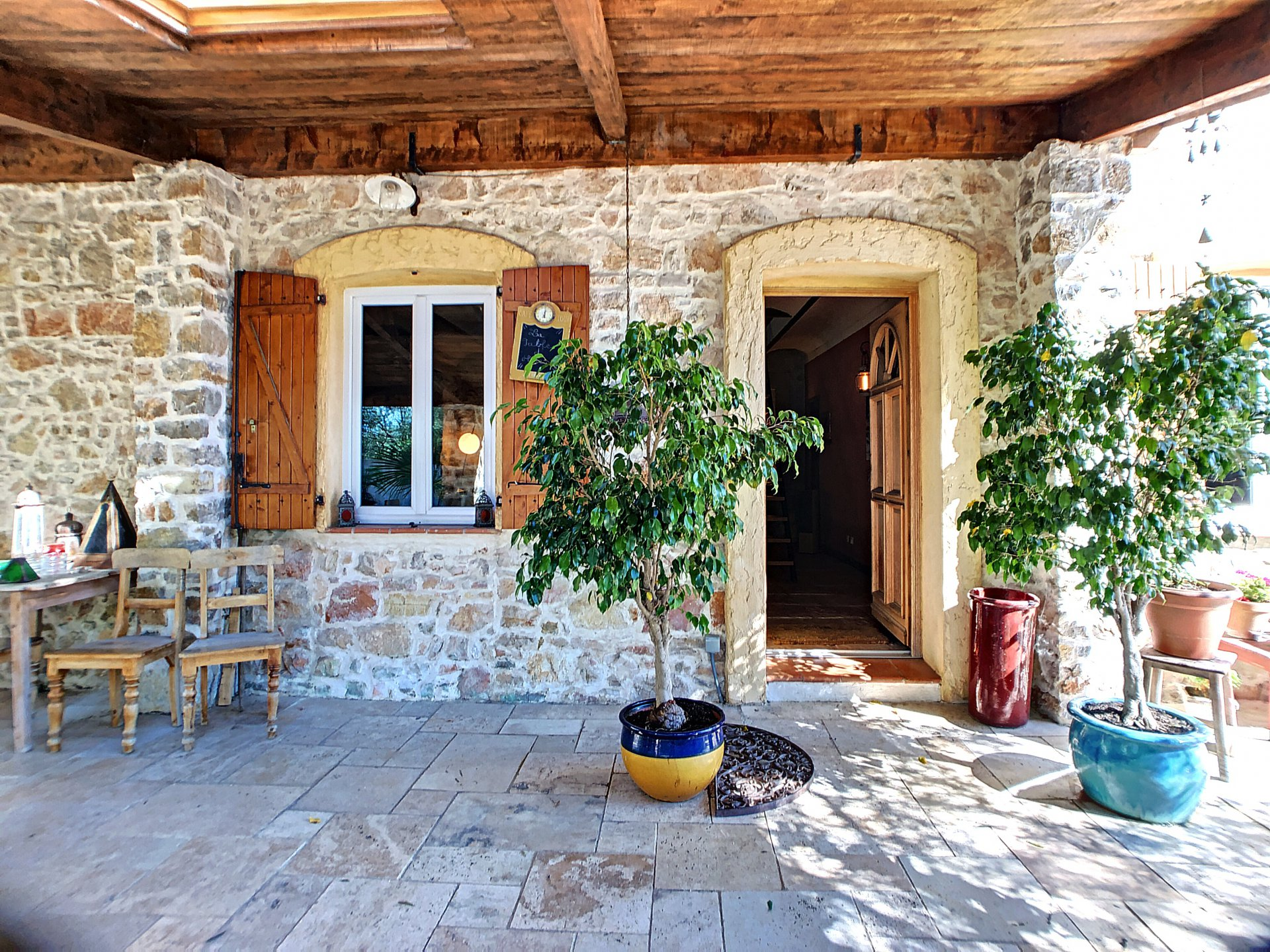 Vallauris, Villa 5P de charme en pierre