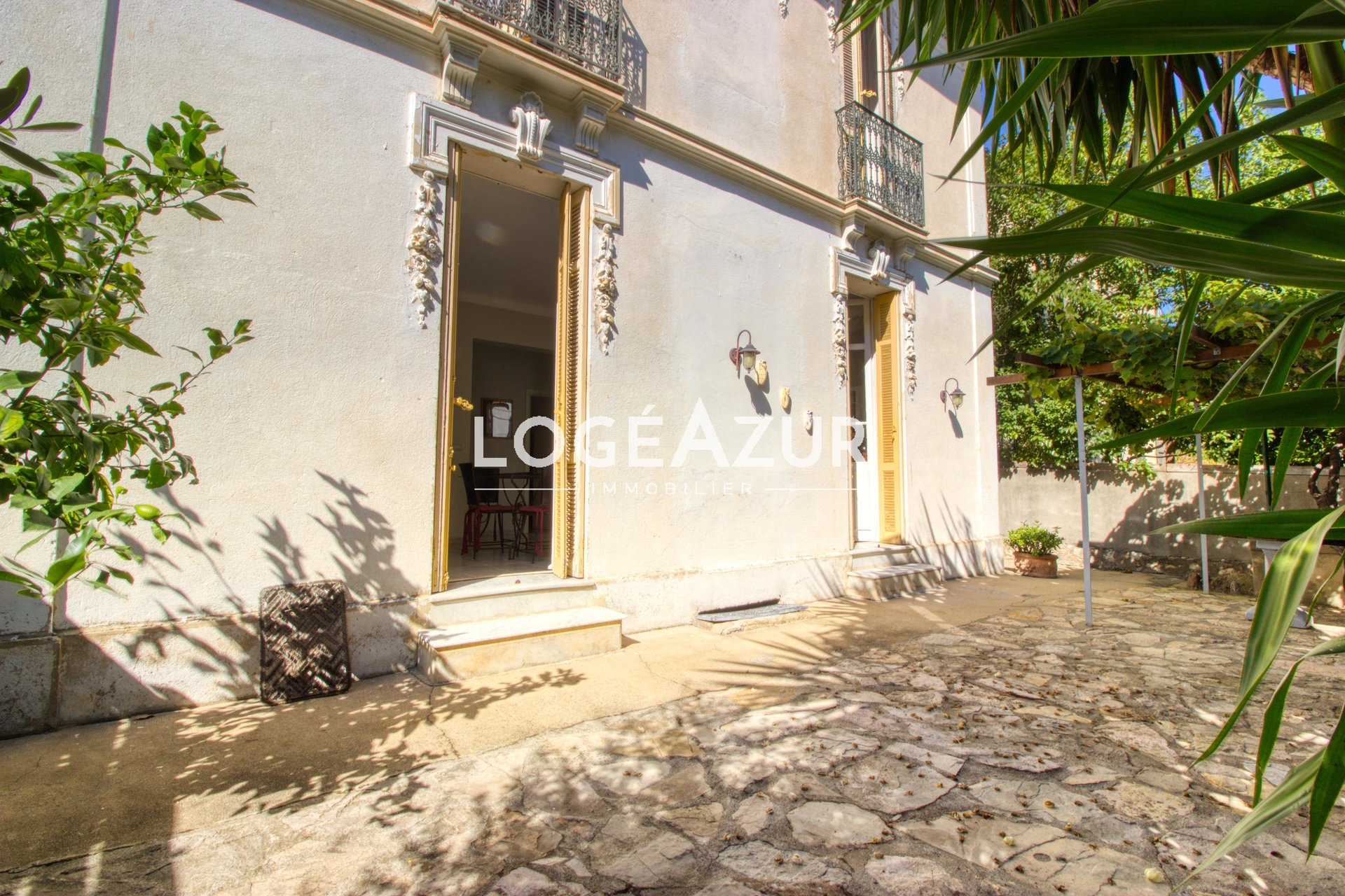 Sale  apartment 2 bedrooms in ground garden CANNES