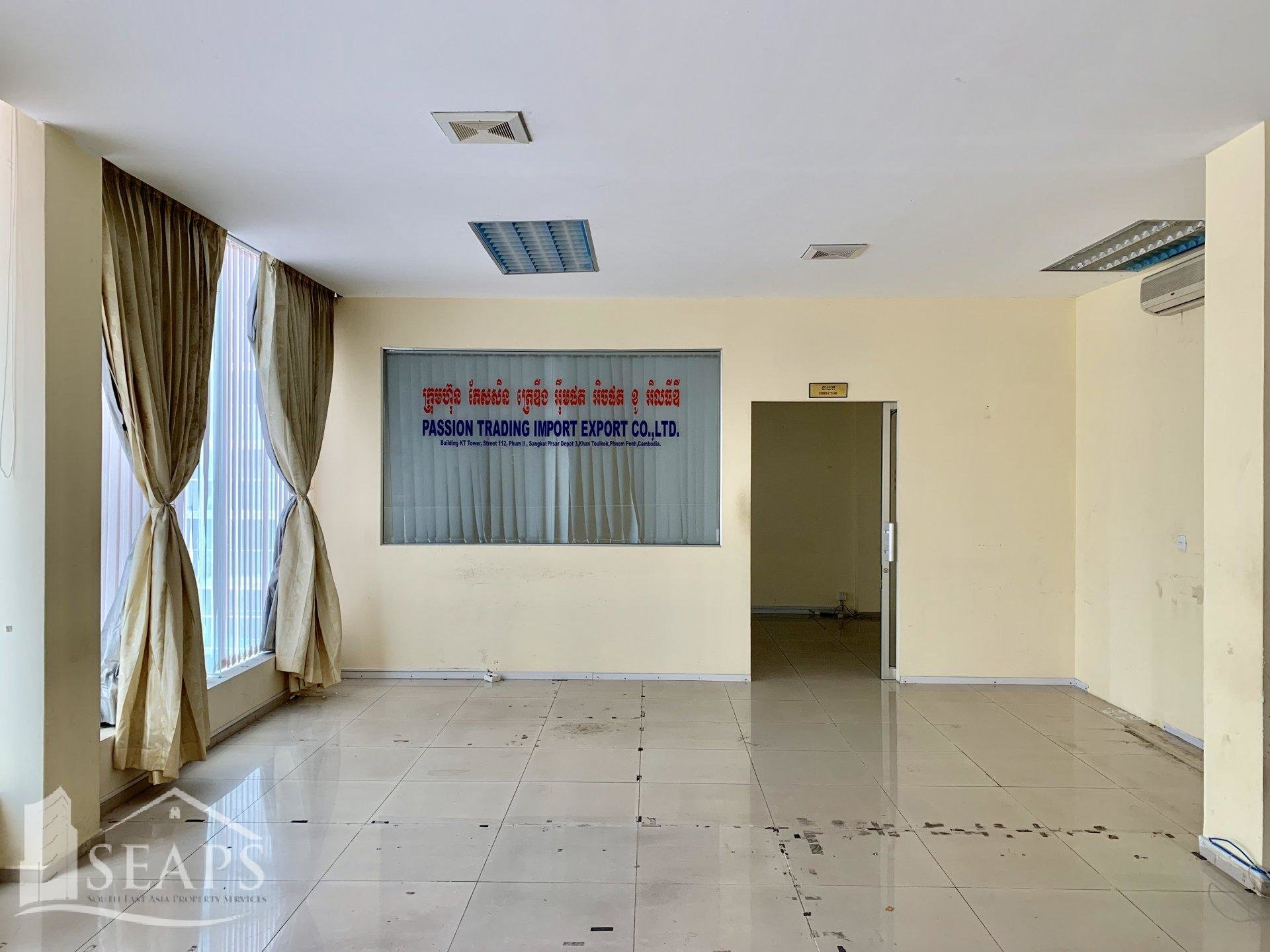 OFFICE SPACE FOR RENT - TOUL KORK