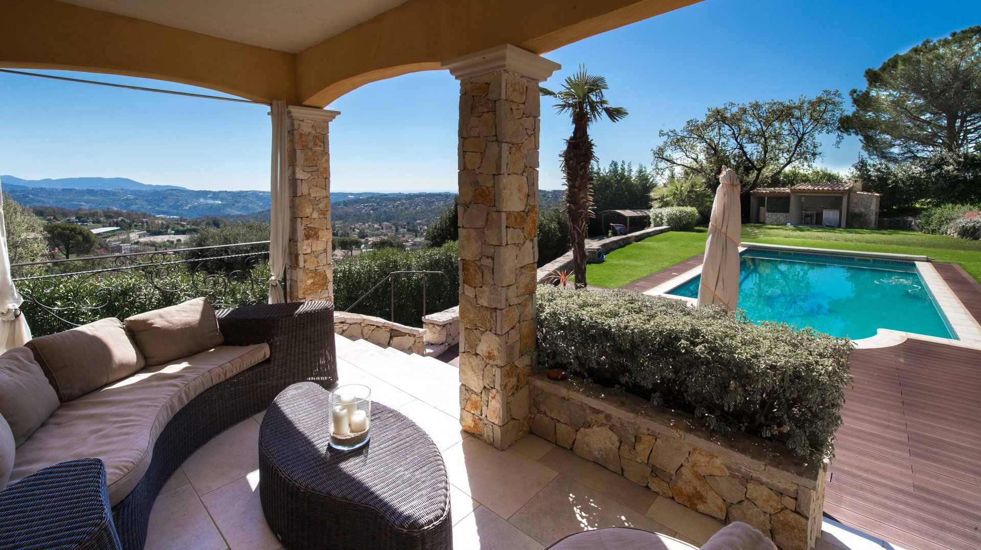 Villa with pool - Saint Jeannet