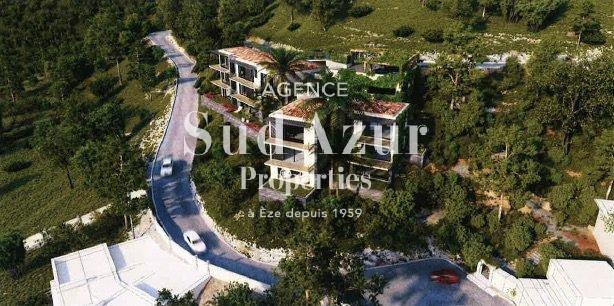 Projet 2 villas Eze sur mer