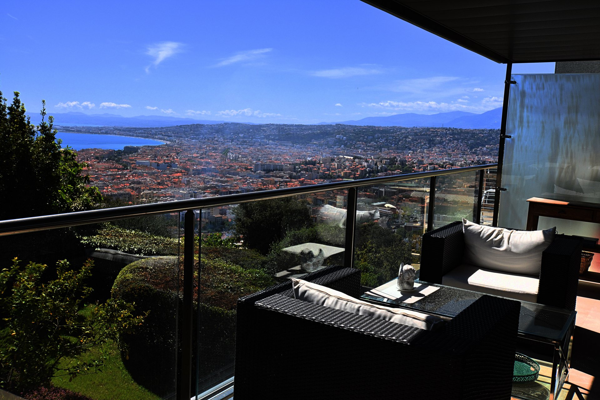 Nice - Mont Boron - apartment of 150 sq.m with sea views
