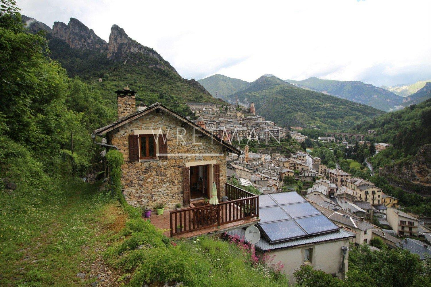 Large property with panoramic view - Tende